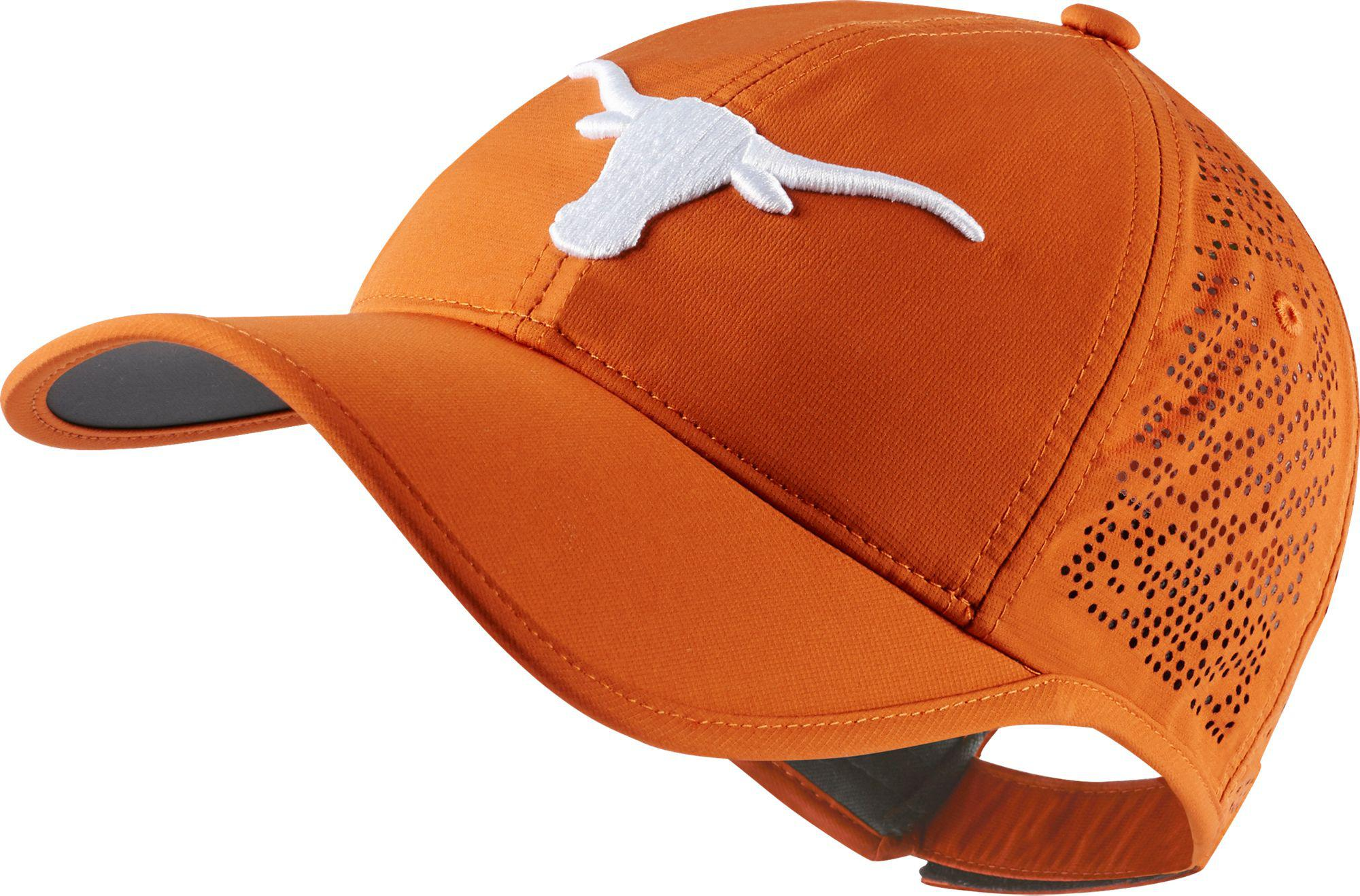 547771eeb39 ... wholesale lyst nike texas longhorns perforated golf hat in orange for  men f007d b0c79