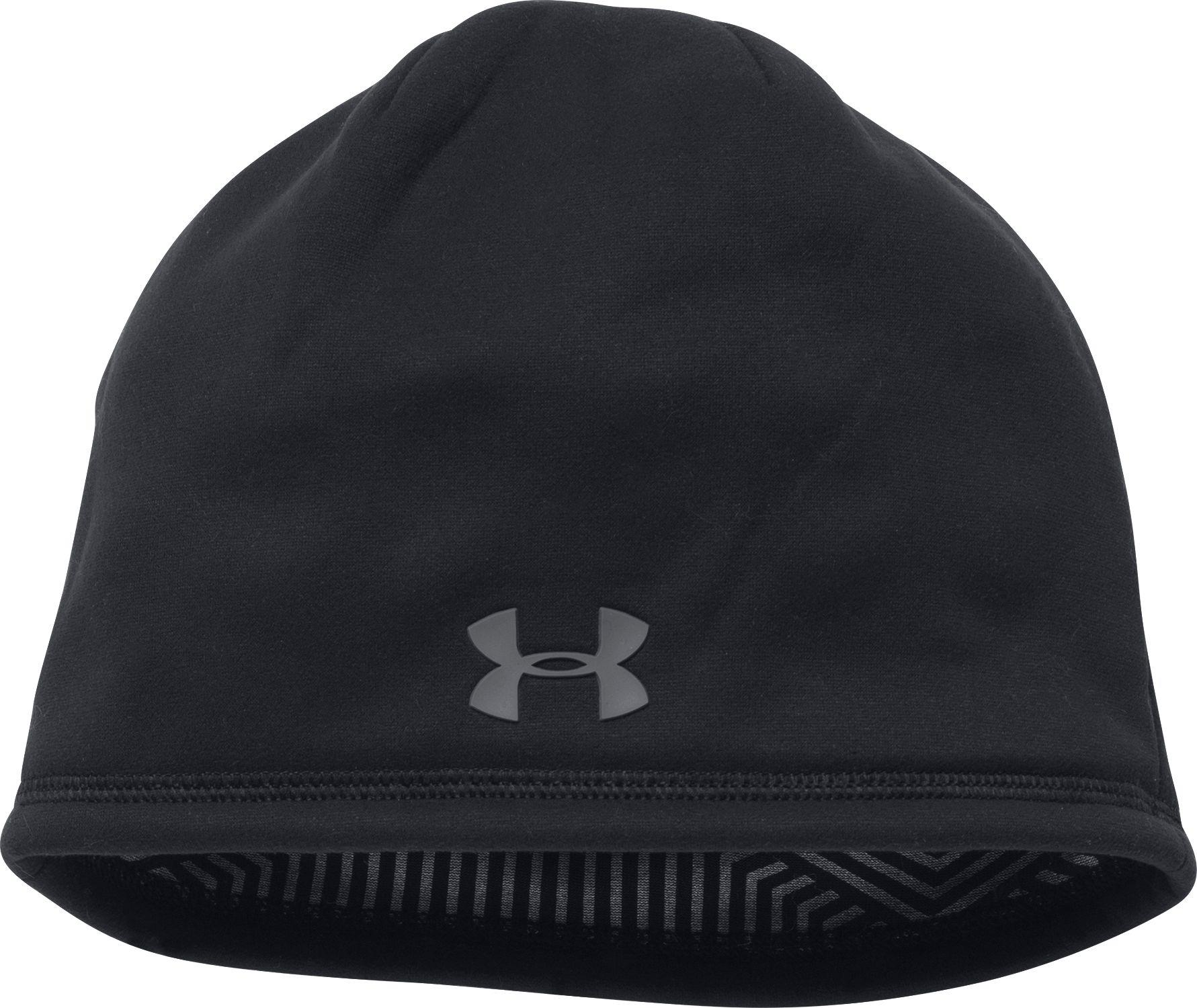 Under Armour - Black Coldgear Infrared Elements Storm 2.0 Beanie for Men -  Lyst e61bff0a963