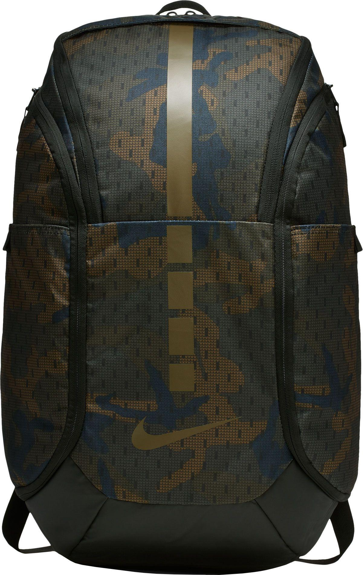 6f92e9ab4550 Nike - Multicolor Hoops Elite Pro Camo Basketball Backpack for Men - Lyst