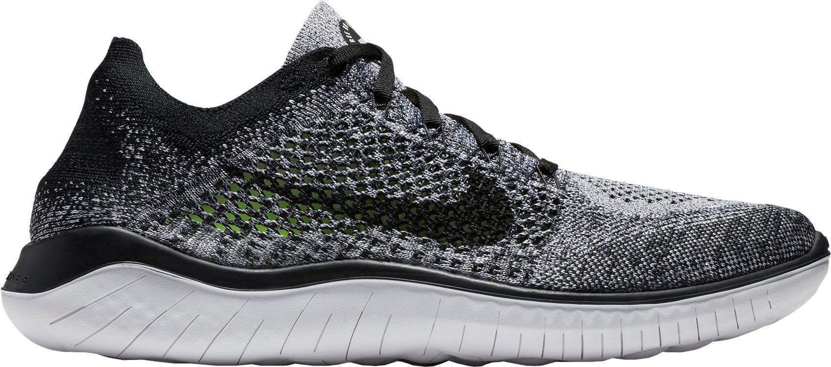 free shipping 3e03d 19418 Nike - Black Free Rn Flyknit 2018 Running Shoes for Men - Lyst