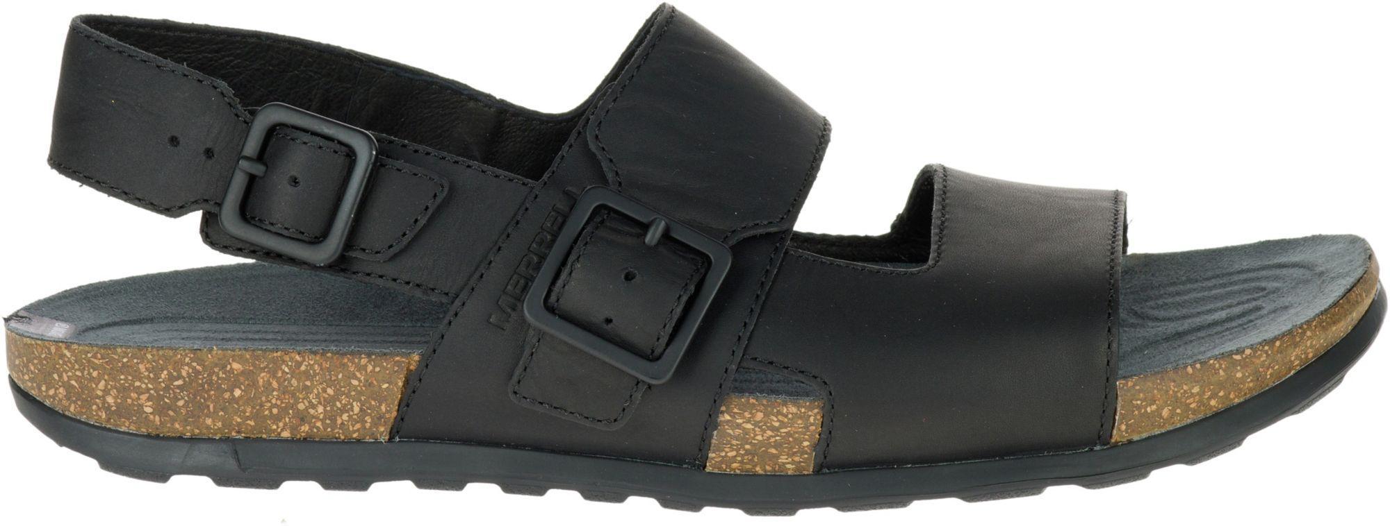 c7f884ea56 Lyst - Merrell Downtown Backstrap Buckle Sandals in Black for Men
