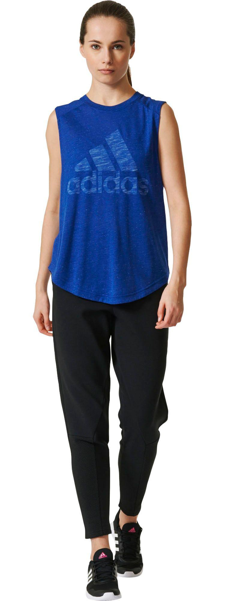 dac310d3db50a Lyst - adidas Winners Muscle Tank Top in Blue