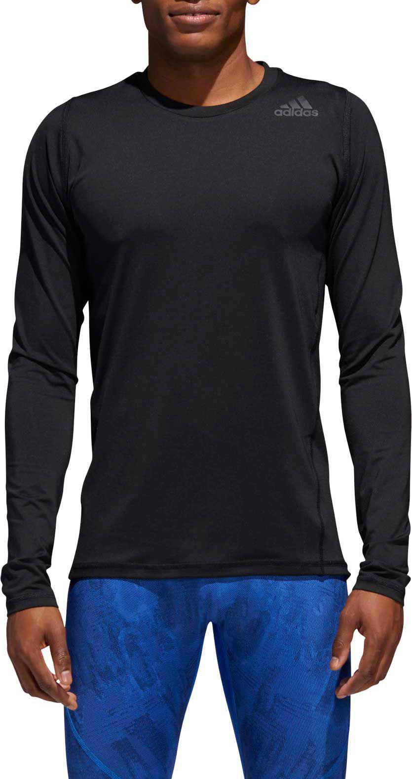 3e3af04fb08 Adidas - Black Alphaskin Sport Fitted Long Sleeve Training T-shirt for Men  - Lyst. View fullscreen