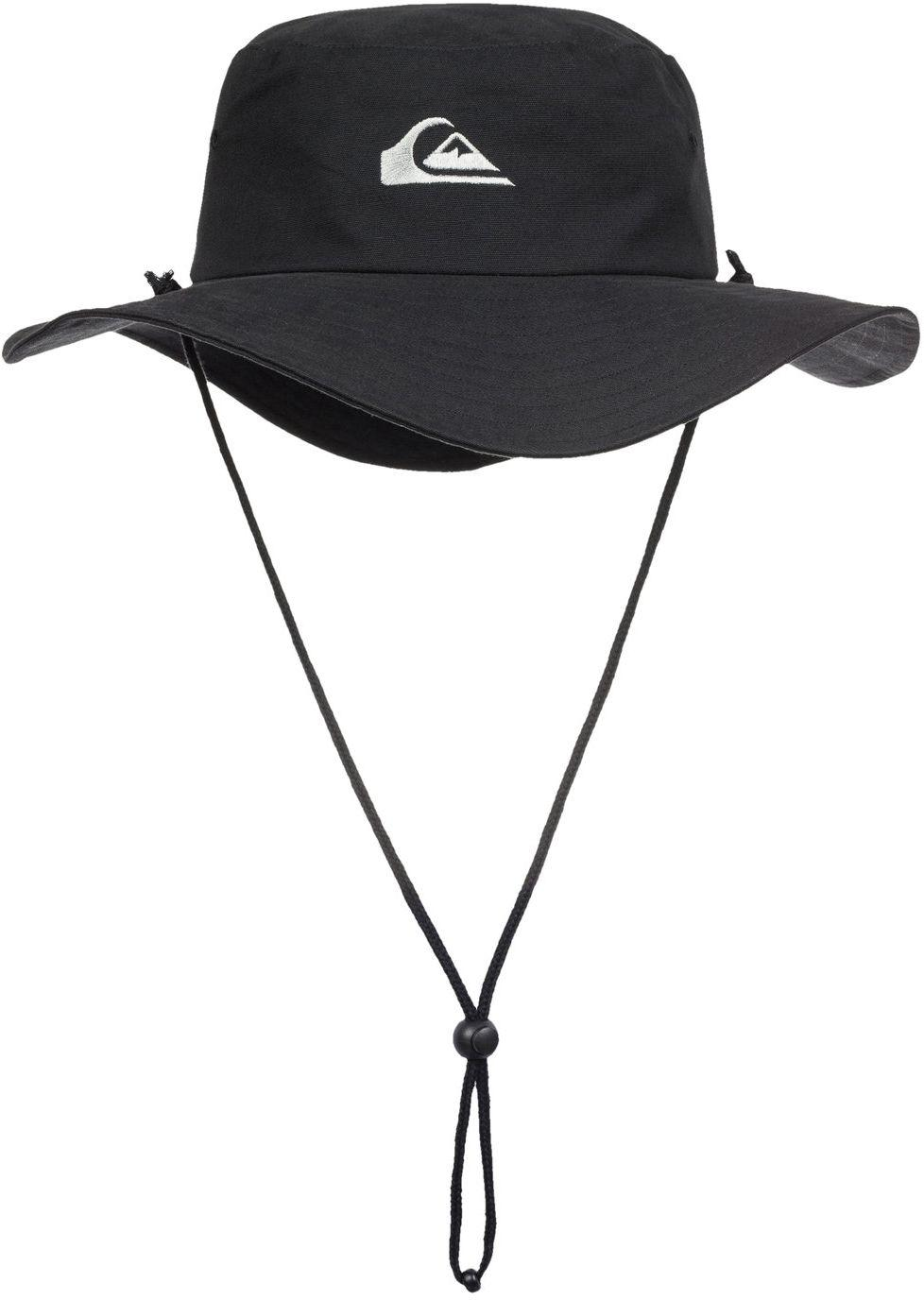 the best attitude d3f87 f728f Lyst - Quiksilver Ushmaster Safari Hat in Black for Men - Save 65%