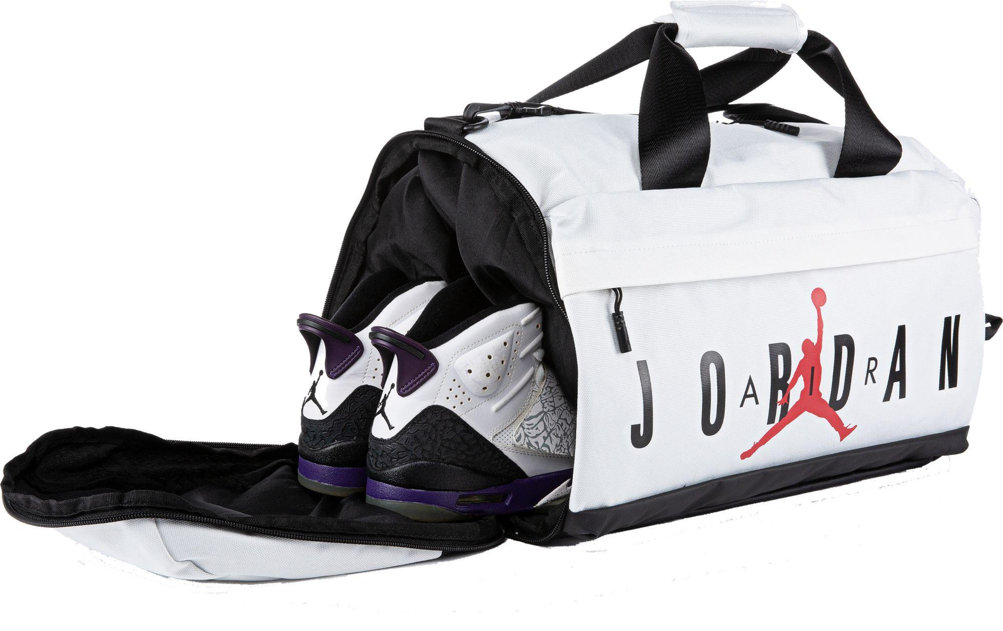 Lyst - Nike Jordan Velocity Duffle Bag in White for Men 8e830d508e515