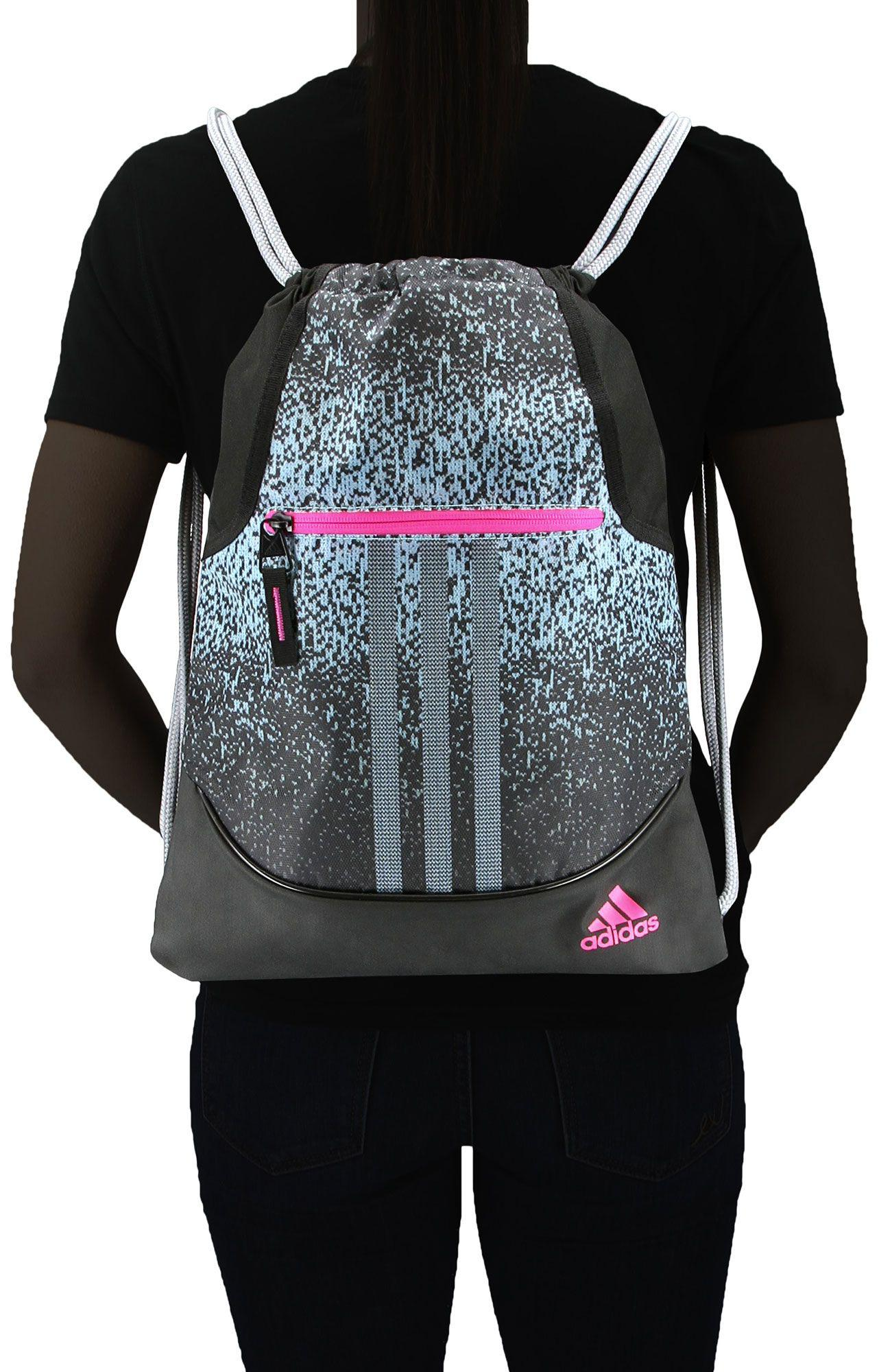 a7b963962c77 Lyst - adidas Alliance Sublimated Prime Sackpack in Black