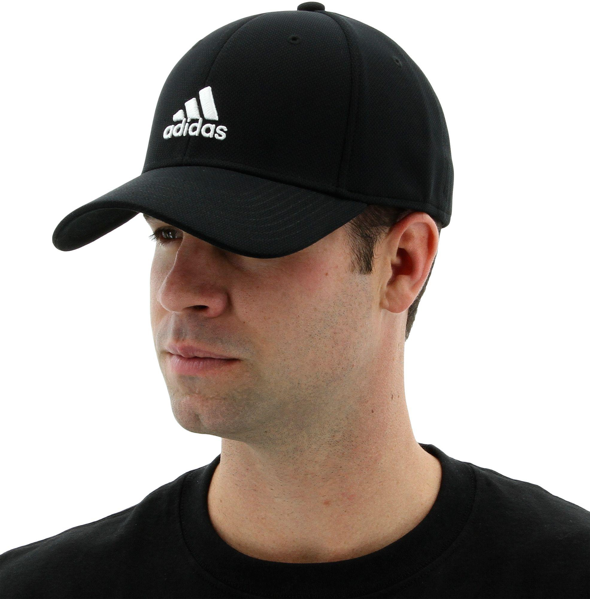 Lyst - adidas Rucker Stretch Fit Cap in Black for Men 9916ced13cb
