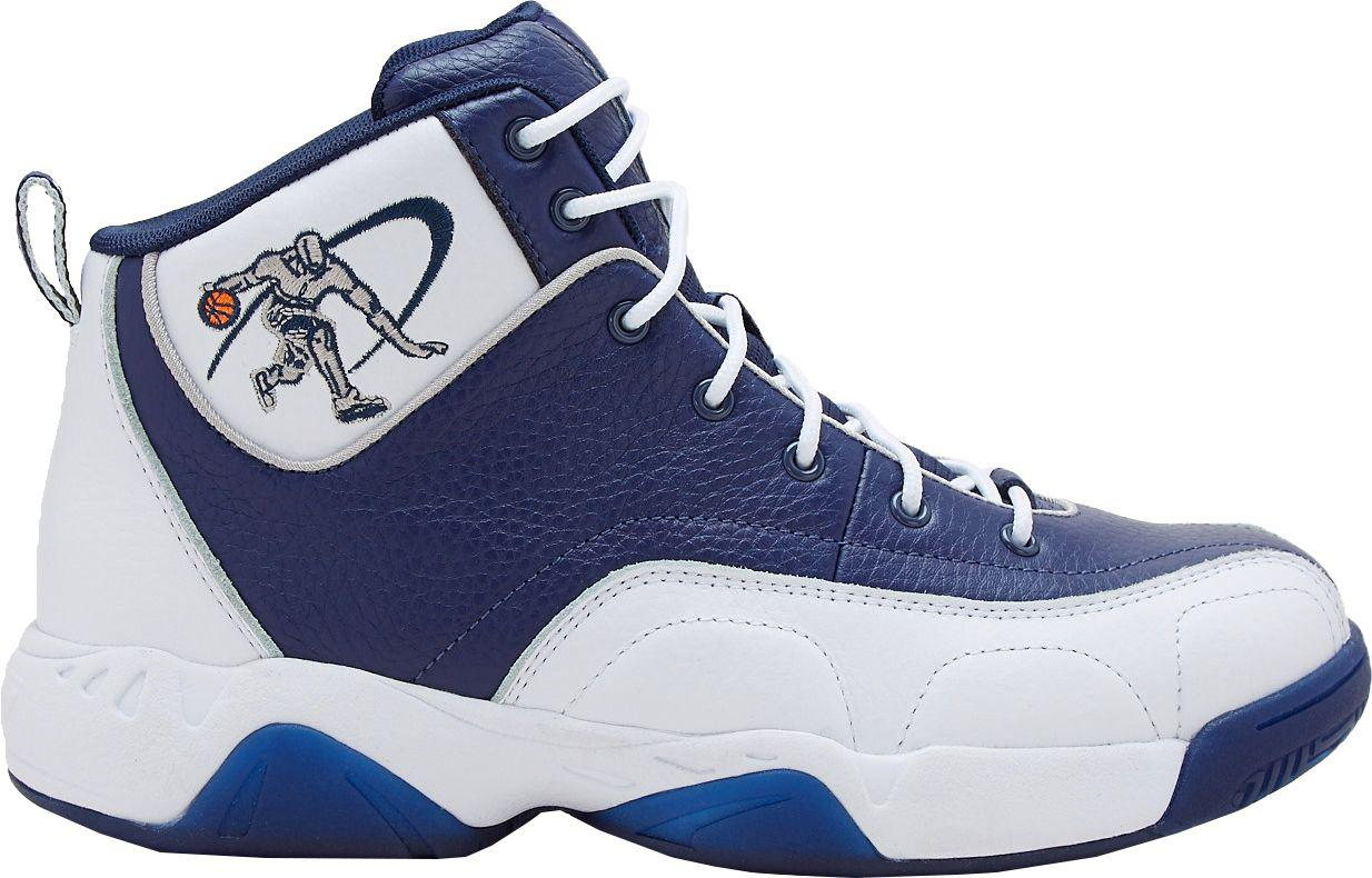 AND1. Men's Blue Coney Island Basketball Shoes