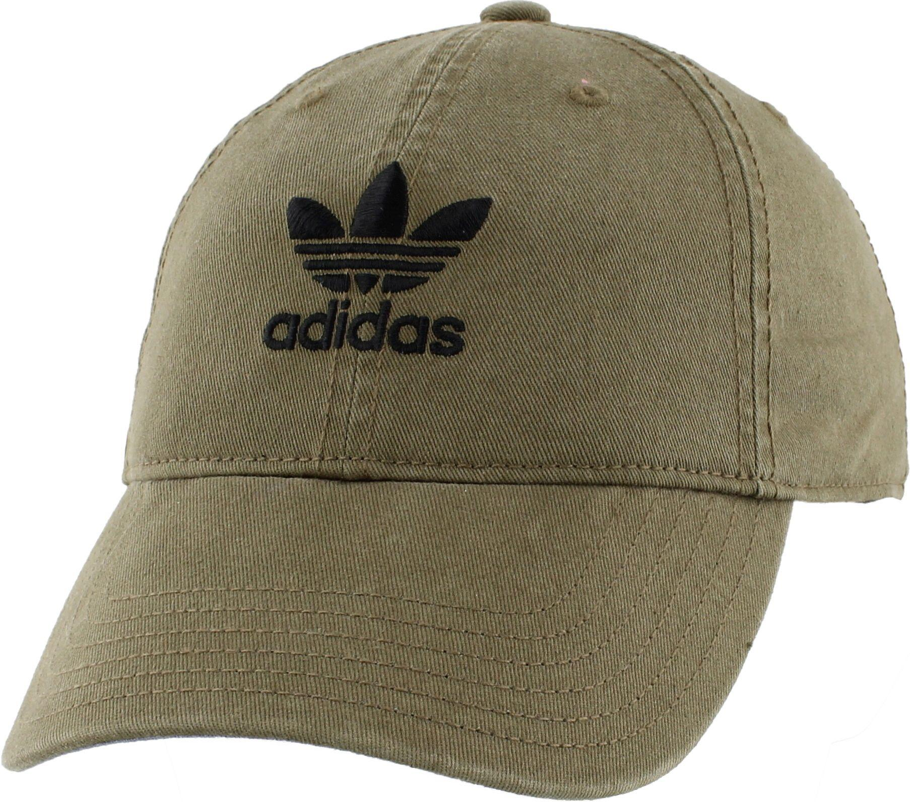 Lyst - adidas Originals Relaxed Strapback Hat in Green 99ecc1ca92d