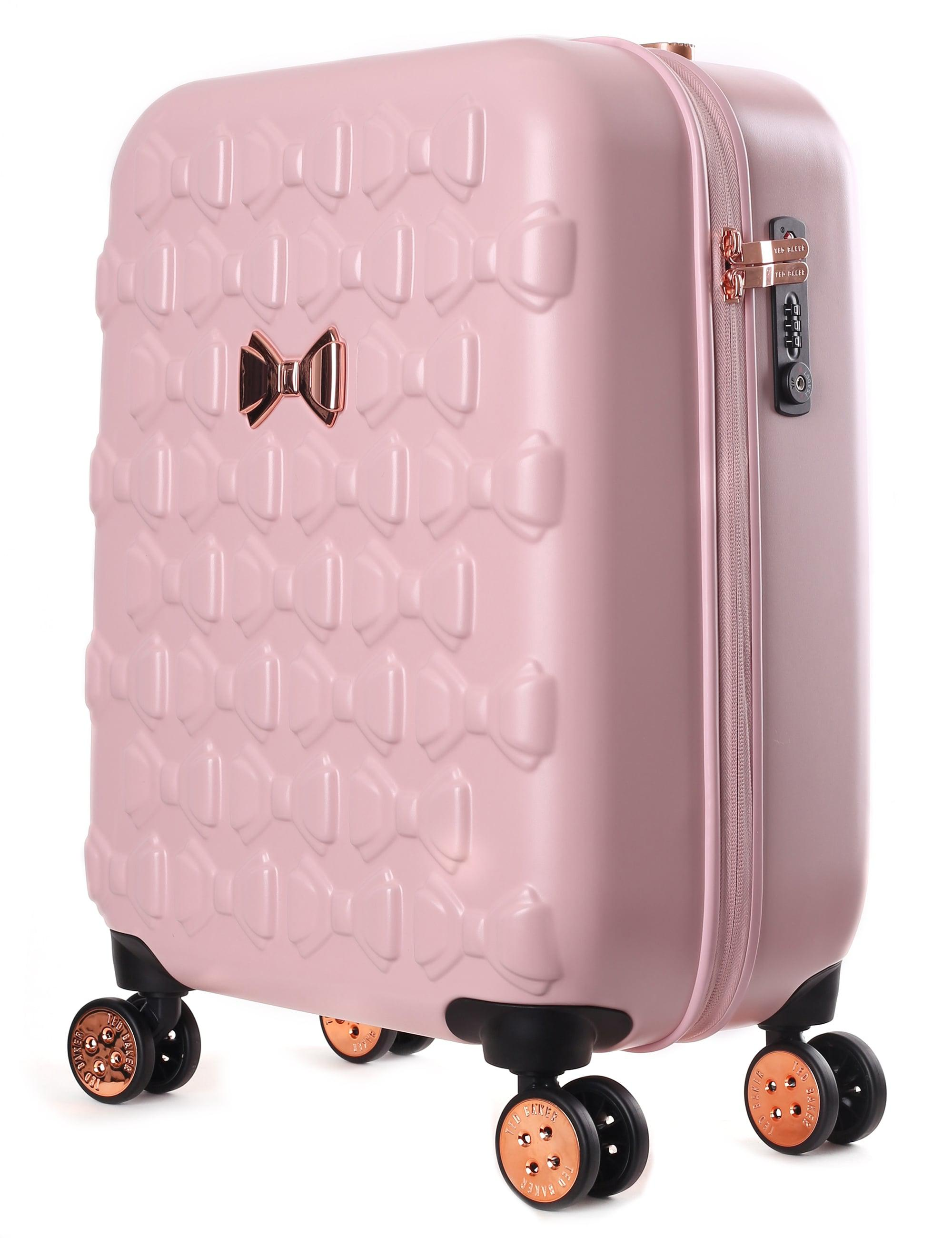 82cfb0b7c7c30 Ted Baker Beaue Women s Moulded Bow 4 Wheel Trolley Pink in Pink - Lyst