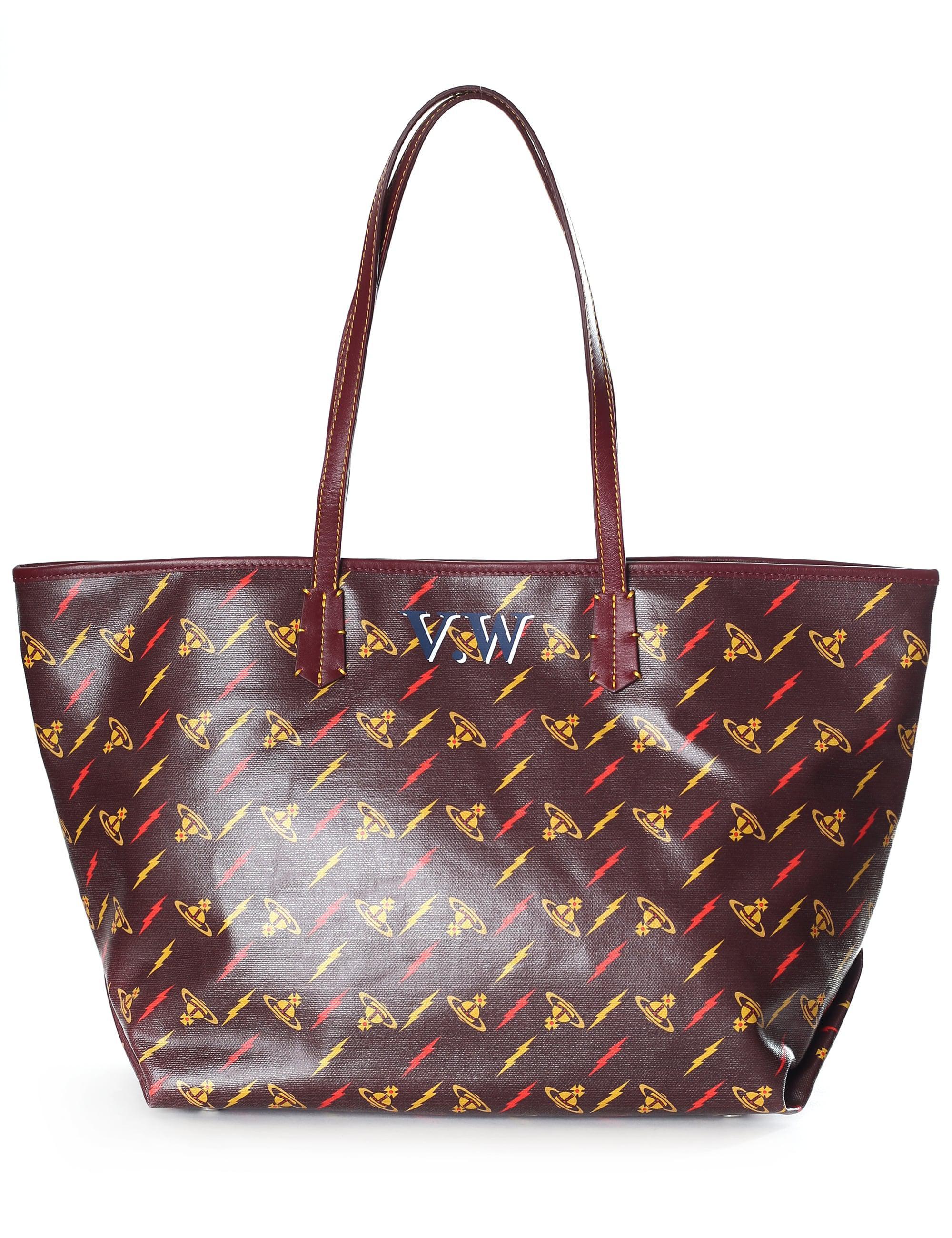 Vivienne Westwood Colette Small Shopper (Burgundy) Handbags LaUxv