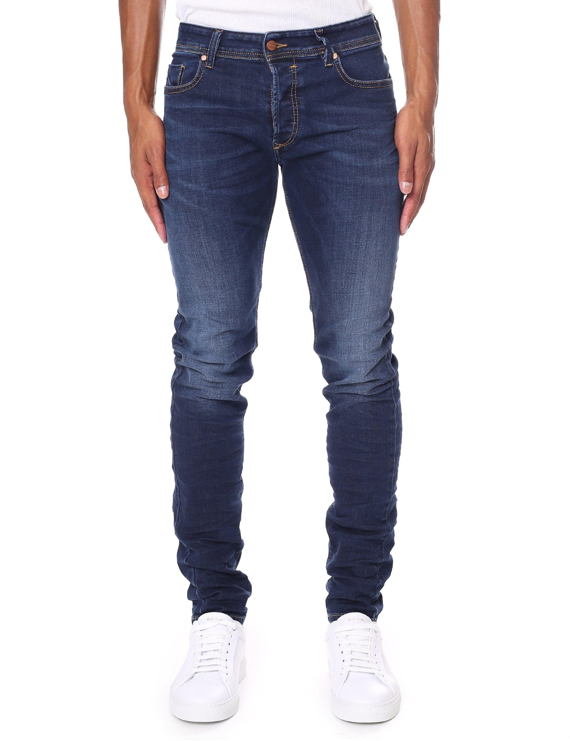 201e0d6e DIESEL Sleenker 84ri Jean in Blue for Men - Lyst
