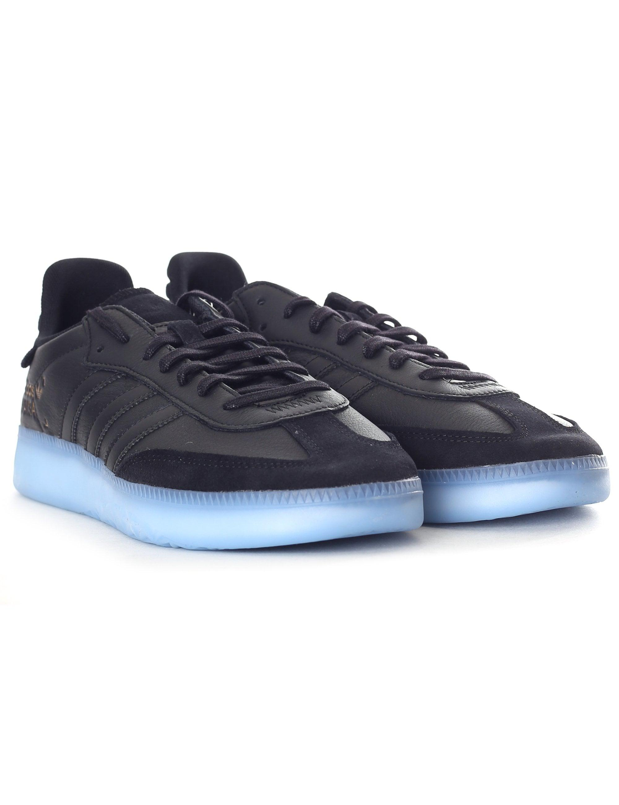 official photos f14b1 d15f9 Adidas Samba Rm Trainers in Black for Men - Lyst