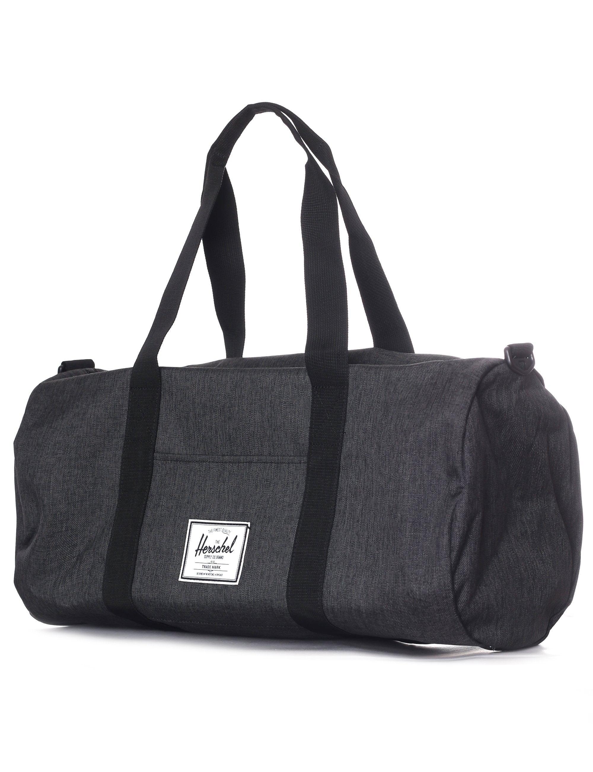 984a89fc82ba Herschel Supply Co. Sutton Duffle Bag Mid Volume Black Crosshatch black in  Black for Men - Lyst