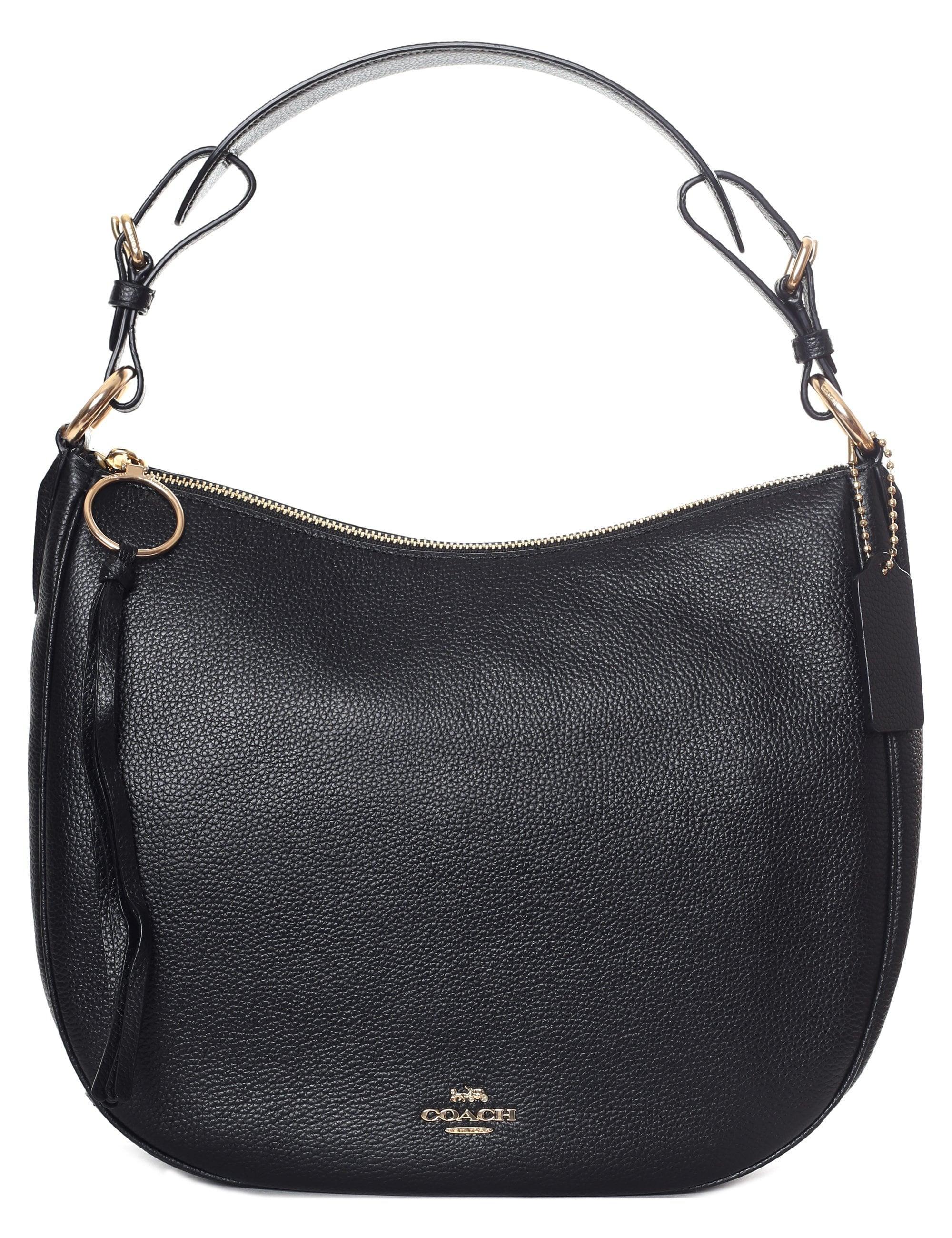 7550f21c5a ... COACH - Women's Sutton Hobo Bag Black/gold - Lyst. Visit Diffusion. Tap  to visit site