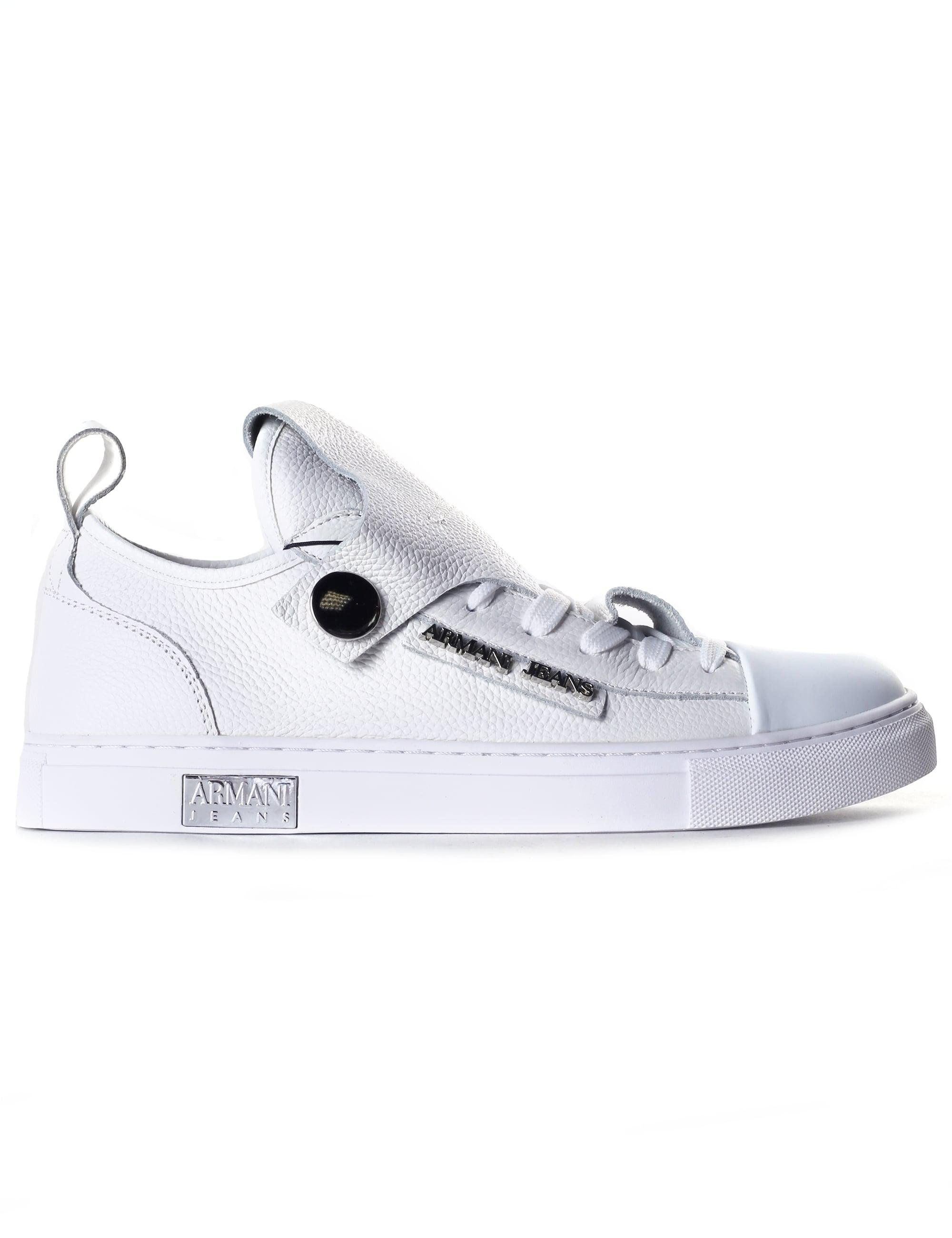 Jeans In Lyst Low Top Sneaker Armani White odCtshQxrB