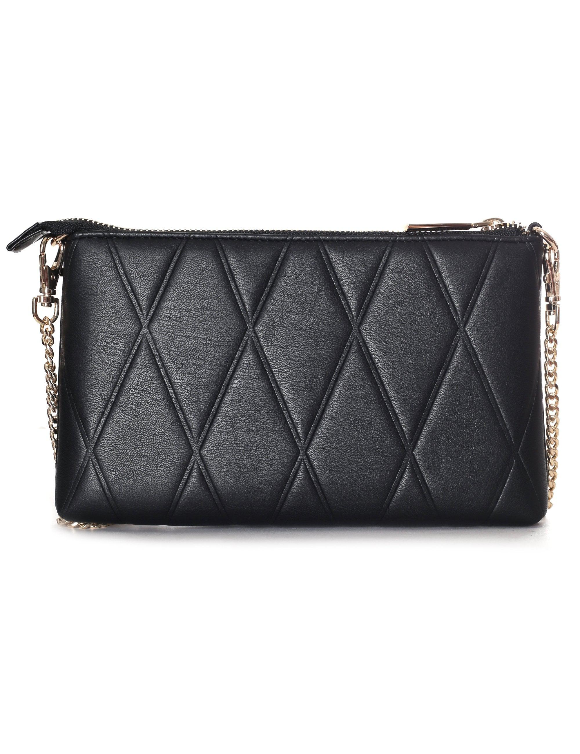 df831a2f01a0 Versace Jeans Embossed Letter Crossbody Bag in Black - Lyst