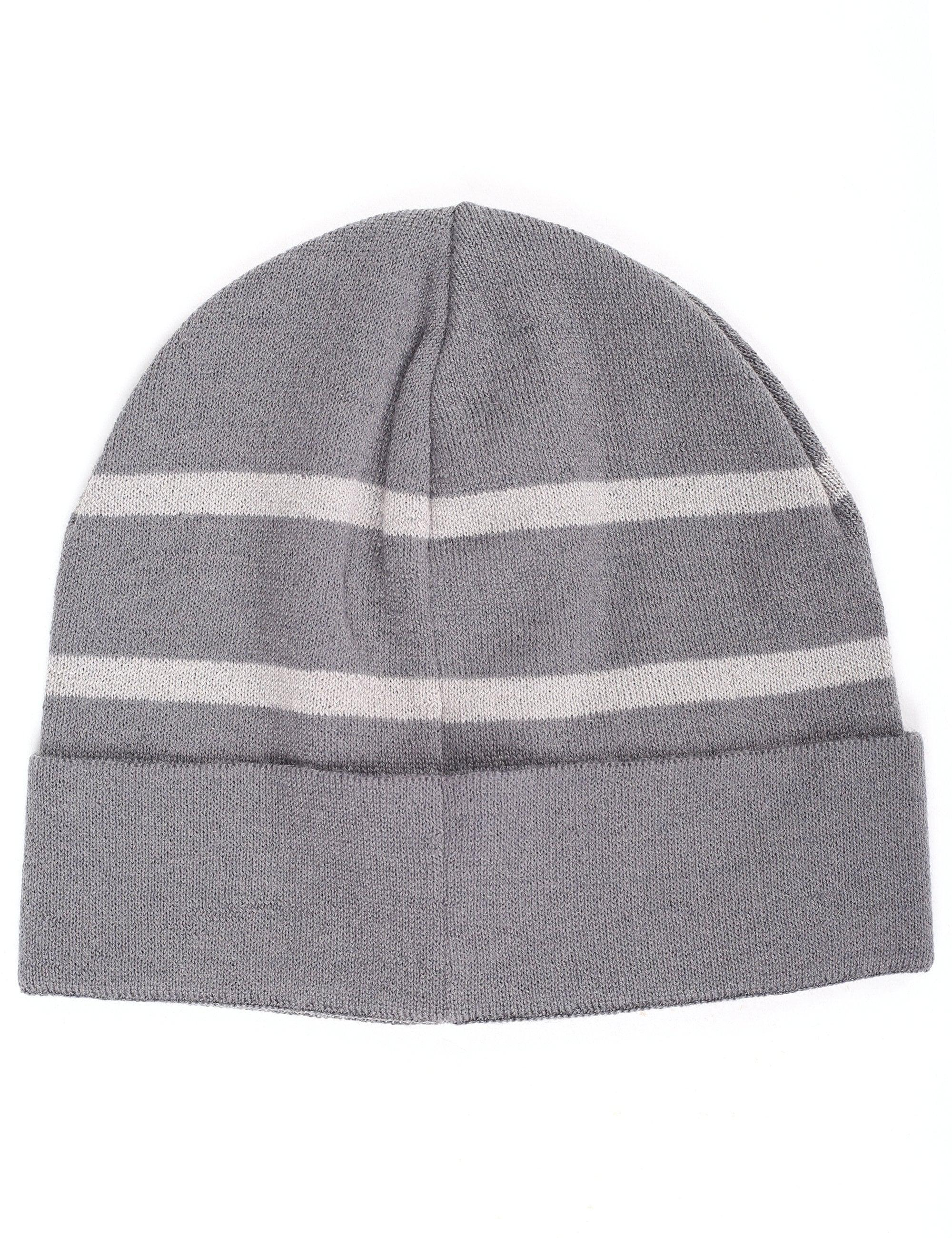 fb2cd43c07f Emporio Armani Men s Eagle Logo Beanie Grey in Gray for Men - Lyst