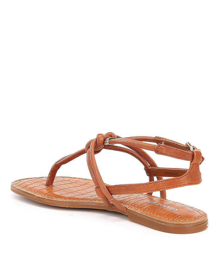 Roric Knotted Flat Sandals