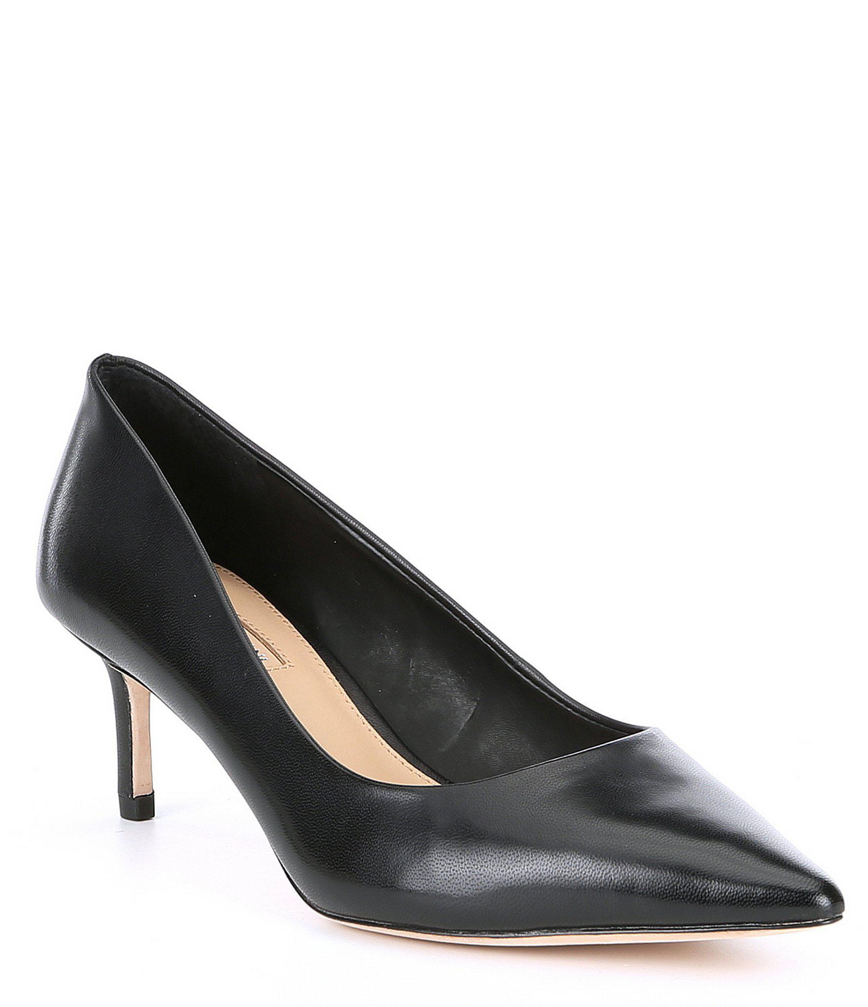 6da9992f417 Lyst - Antonio Melani Ermmie Mid Heel Pumps in Black