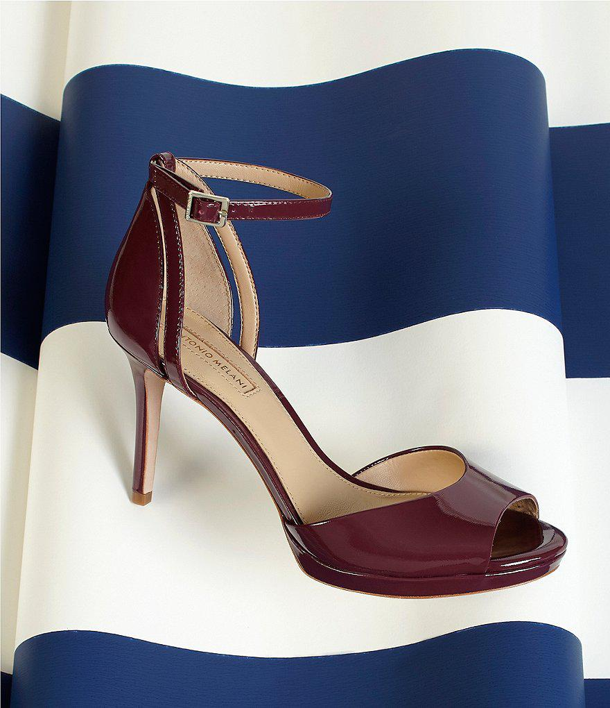Lituala Patent Leather Platform Dress Sandals eqSKIbvdTb