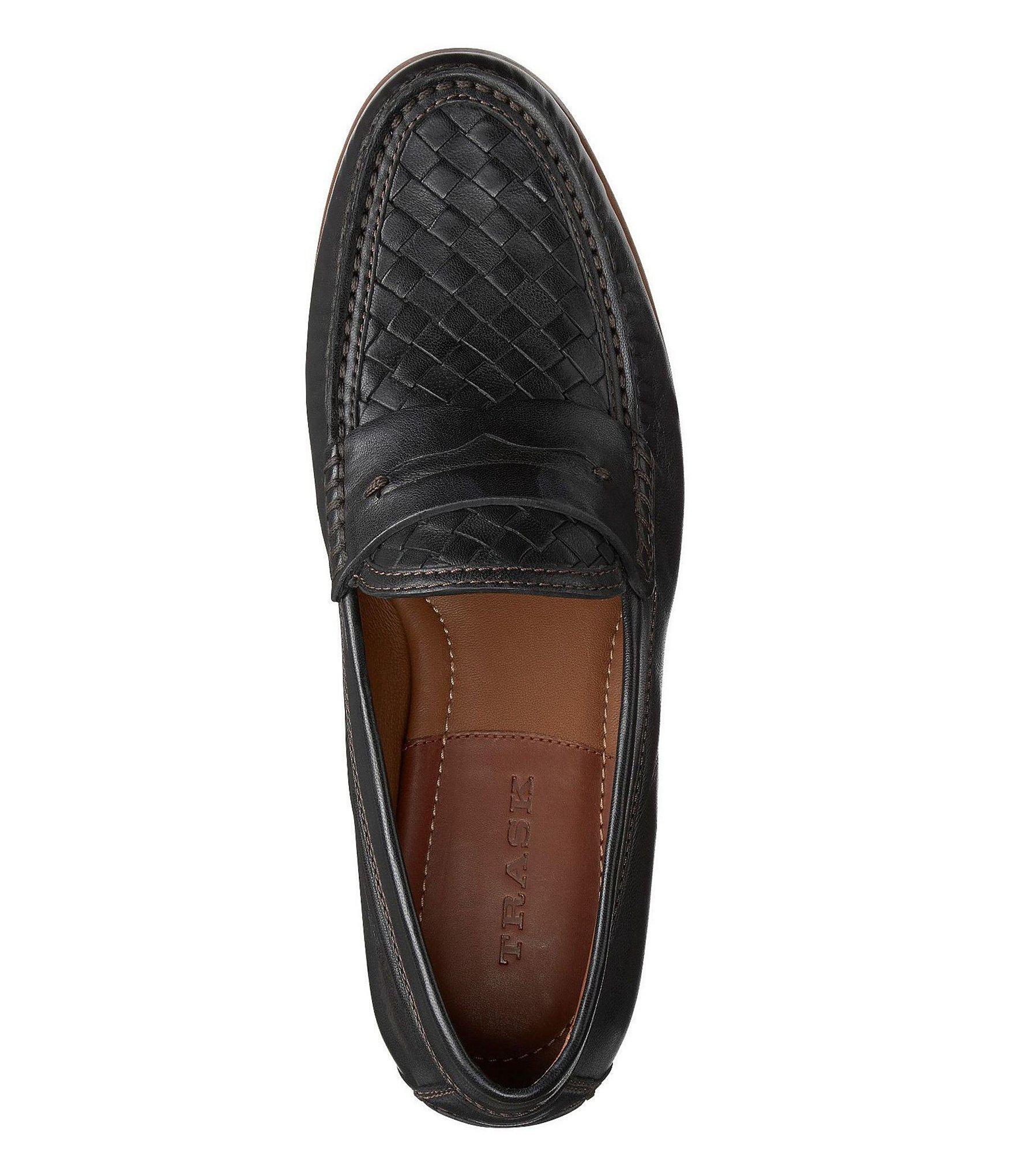 382a5d15430 Trask - Black Men s Slade Woven Loafers for Men - Lyst. View fullscreen