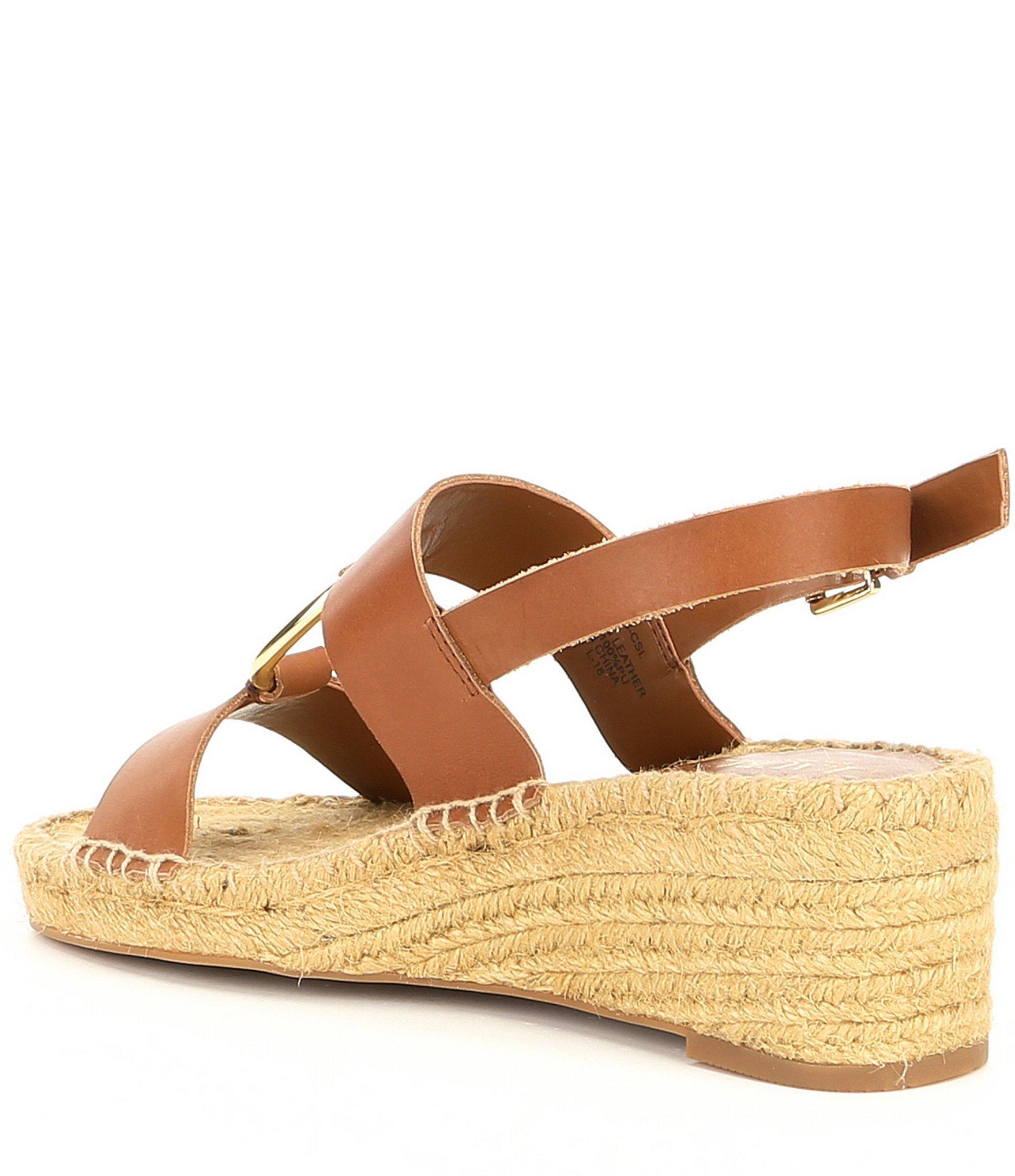 Lauren by ralph lauren Indigo Espadrille Wedge Sandals in