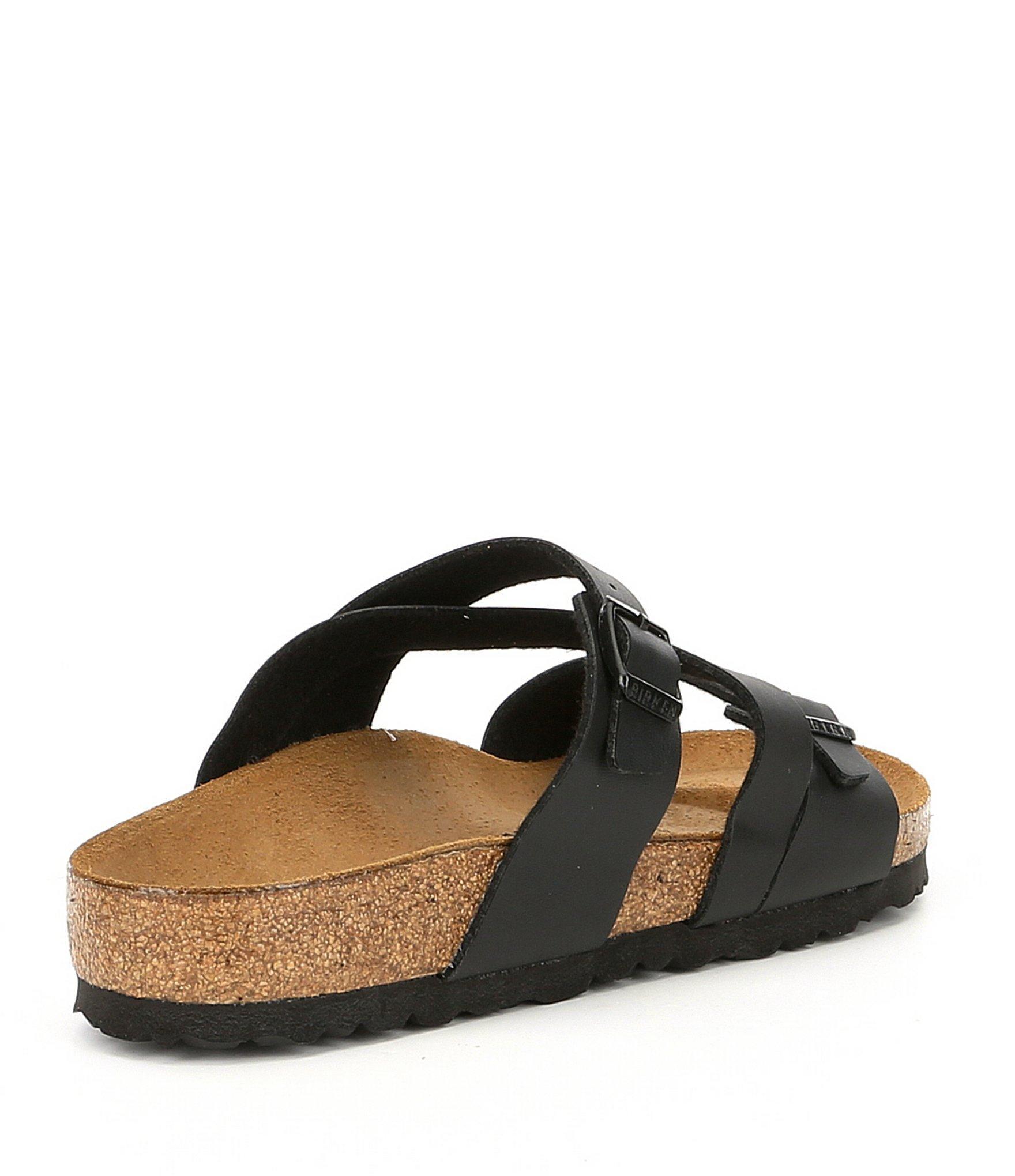 96cedd1130f Lyst - Birkenstock Salina Sandals in Black