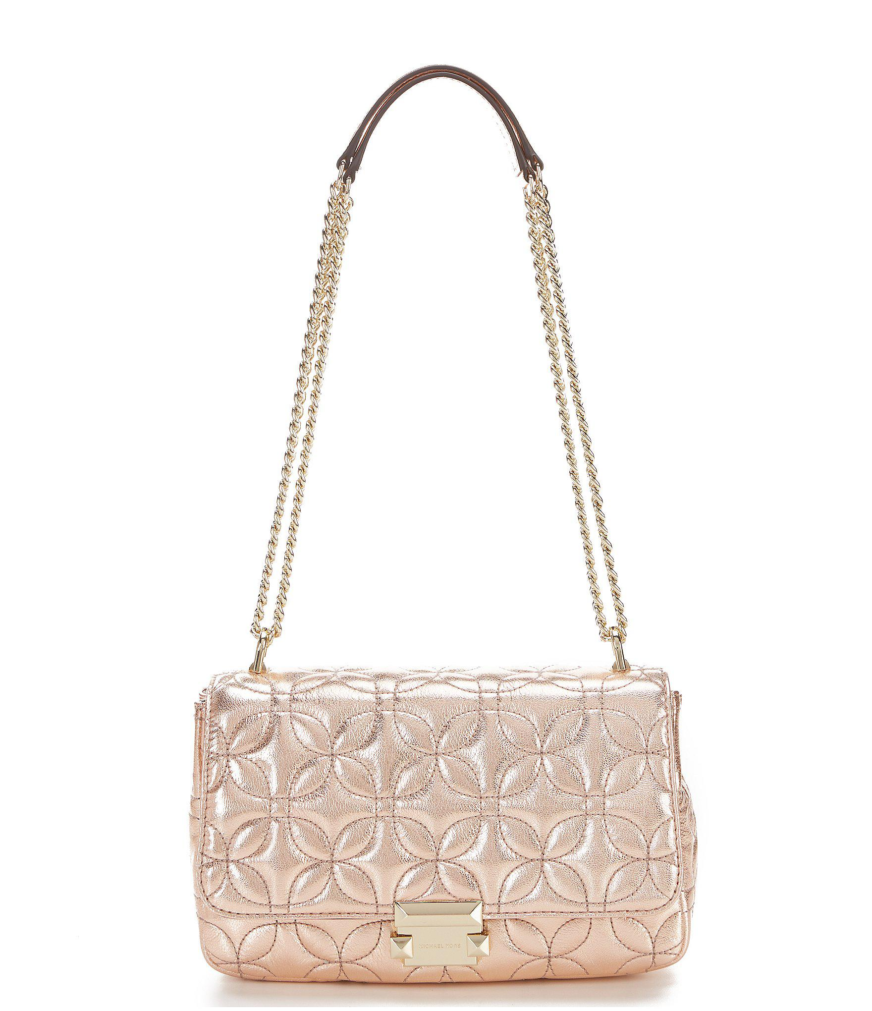 07ff448efbd7 MICHAEL Michael Kors. Women s Sloan Large Chain Metallic Shoulder Bag