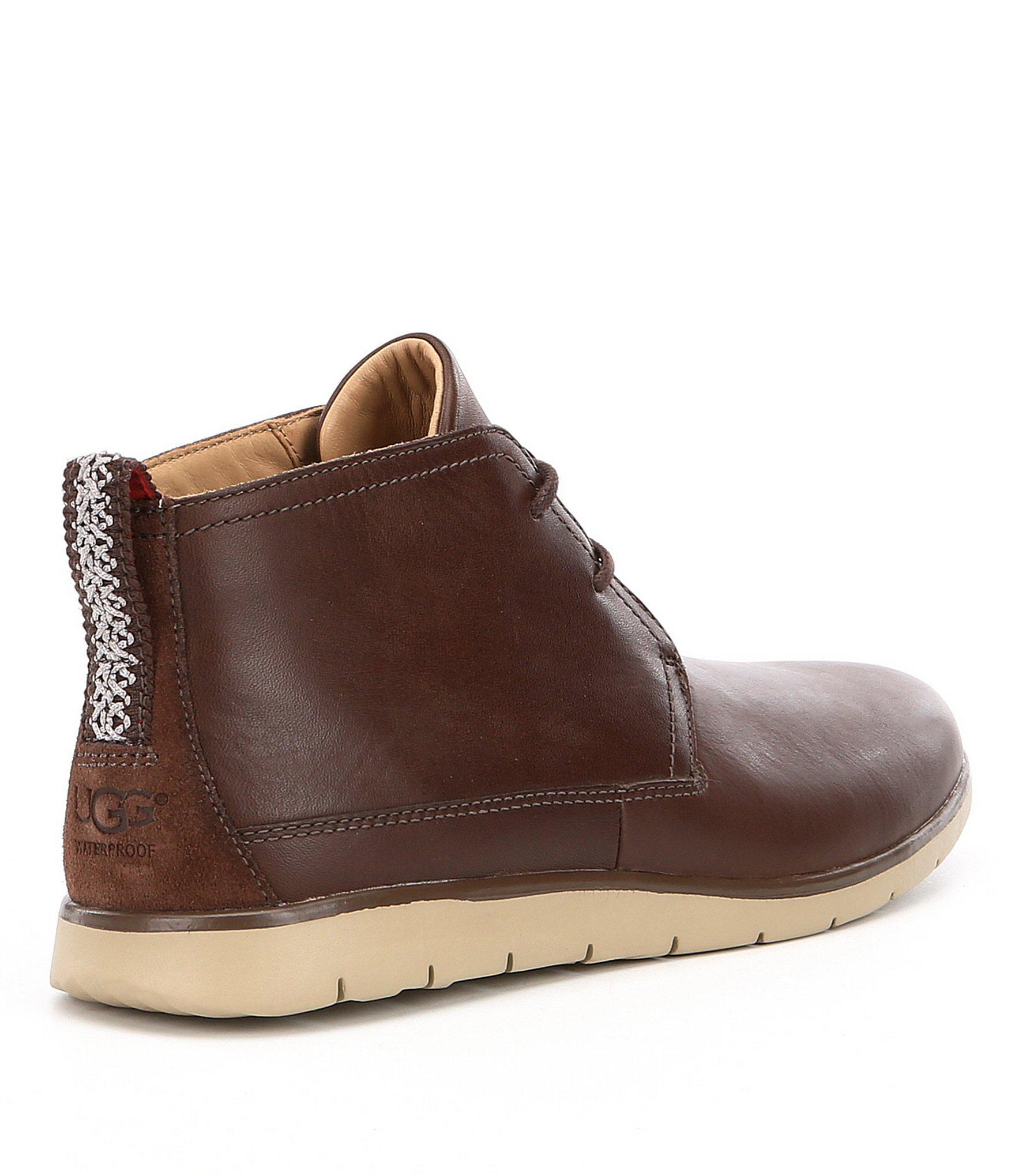 freamon waterproof chukka boot