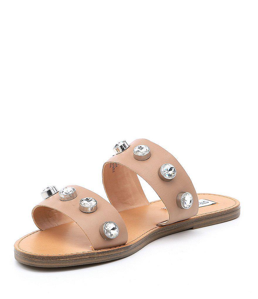 Jessy Leather Jewel Sandals 9QsYSDwKL