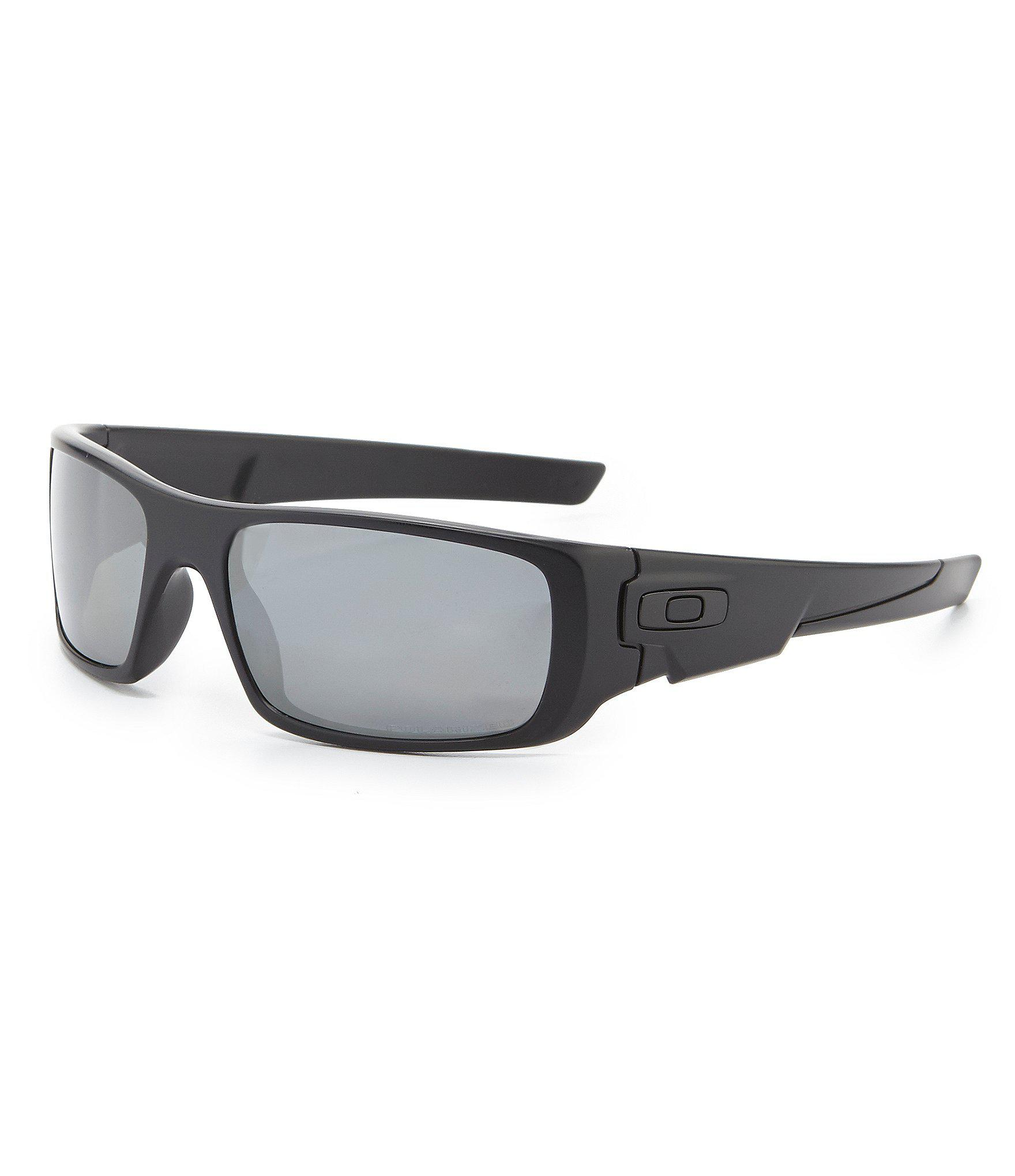3c129fbd6a Lyst - Oakley Polarized Crankshaft Sunglasses in Black for Men