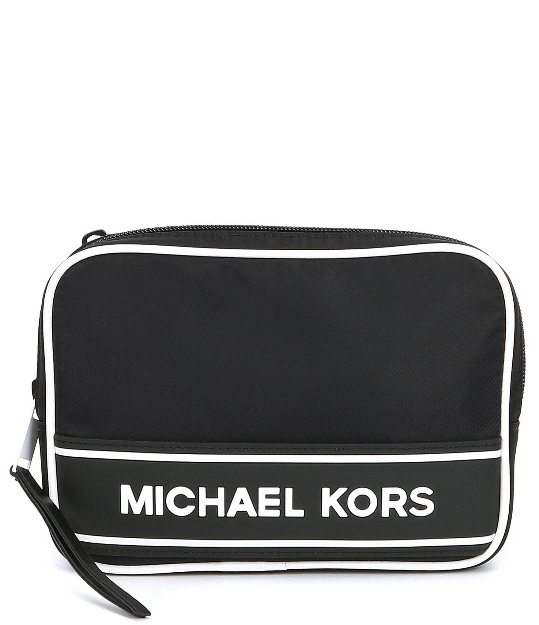 9310bc207daf66 Michael Kors - Black Boxy Nylon Belt Bag - Lyst. View fullscreen