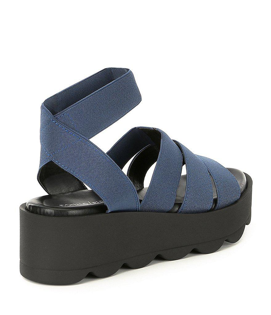 Lanna Stretch Platform Sandals B8SR54v8