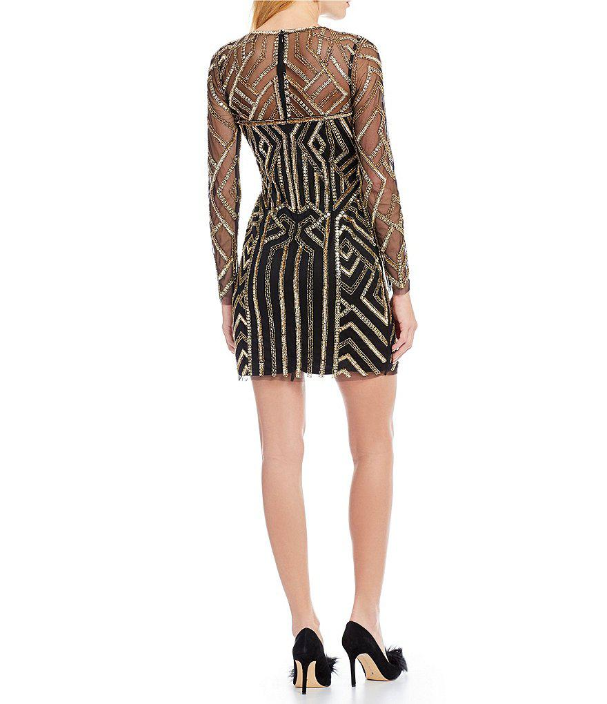 df7078c4e7 Gallery. Previously sold at  Dillard s · Women s Geometric Dresses Women s Sequin  Dresses