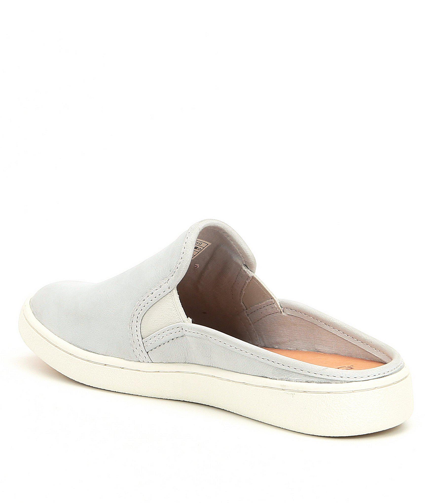 7a73d768be63 Ugg - Gray Gene Nubuck Slide Sneakers - Lyst. View fullscreen