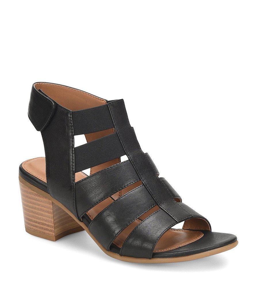 Alexis Metallic Suede Gladiator Block Heel Sandals aiLsqbI3vQ