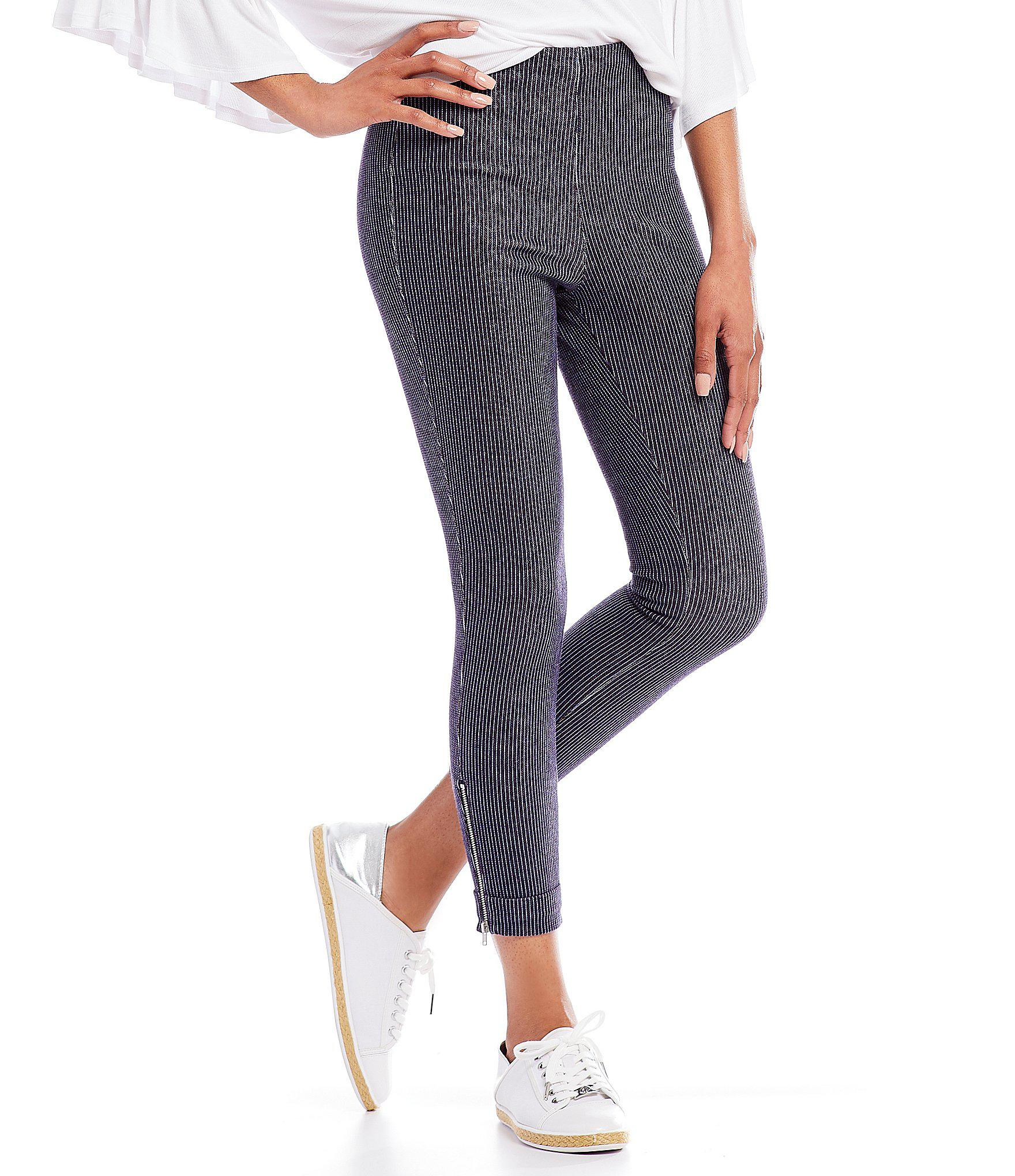 f0de8106488 Lyst - Lyssé Denim Cuffed Crop Legging in Blue