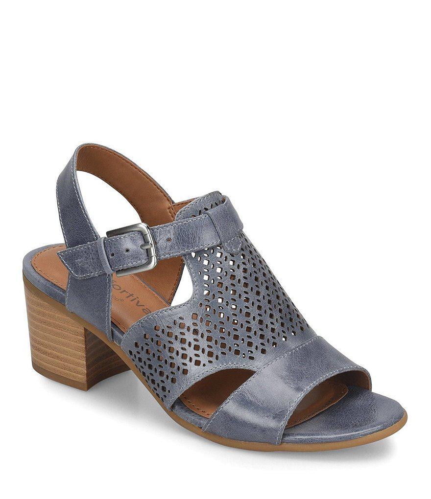 Amber Tie Front Block Heel Sandals rXJB6yNc
