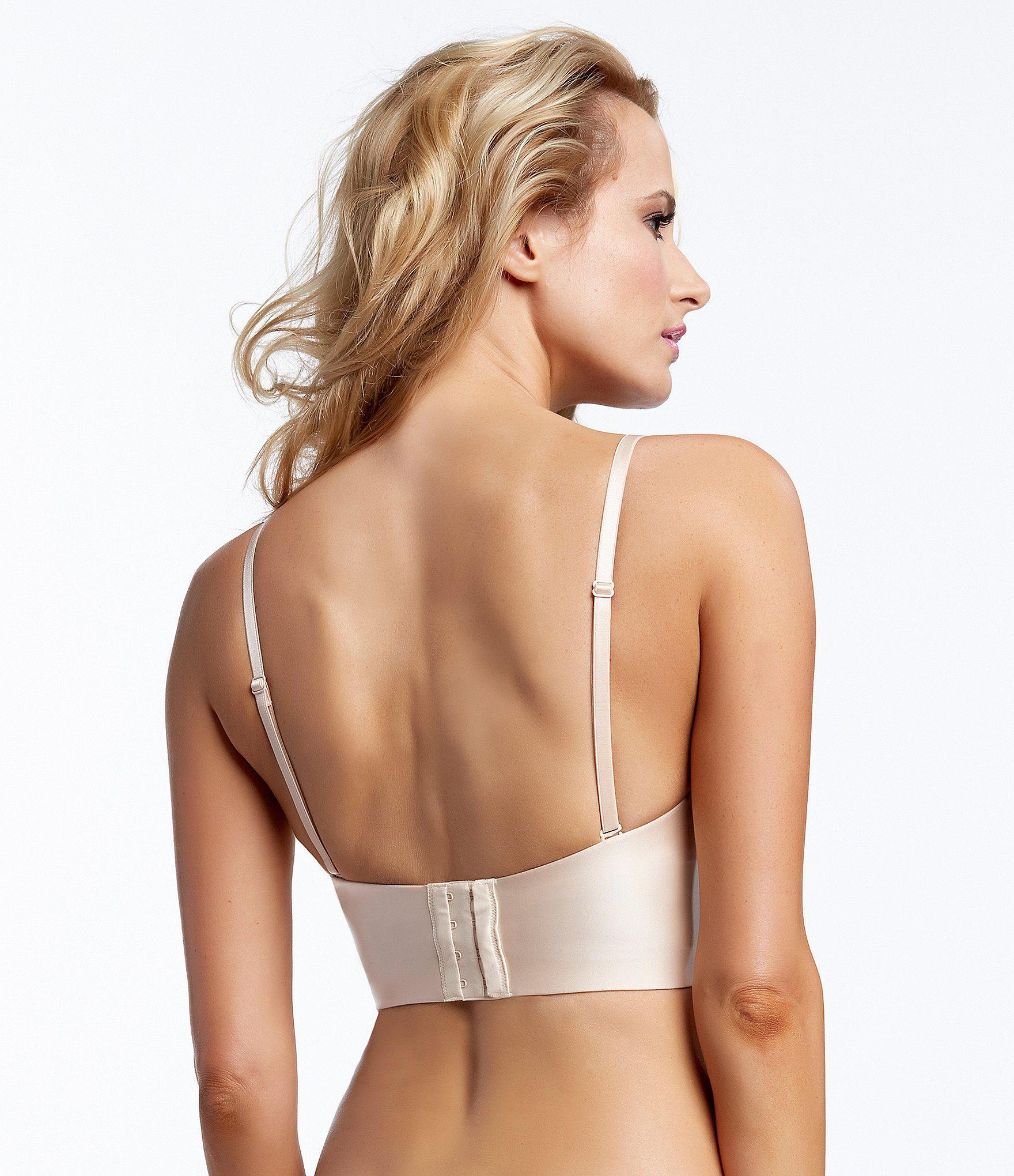 4276896cde4 Felina - Natural Essentials Longline Strapless Bustier - Lyst. View  fullscreen