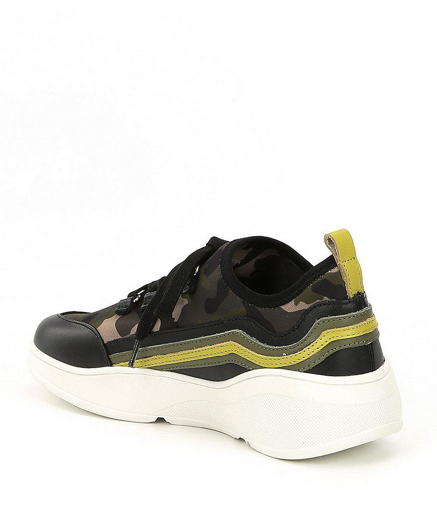 Cavo Camoflage Wedge Sneakers 344We