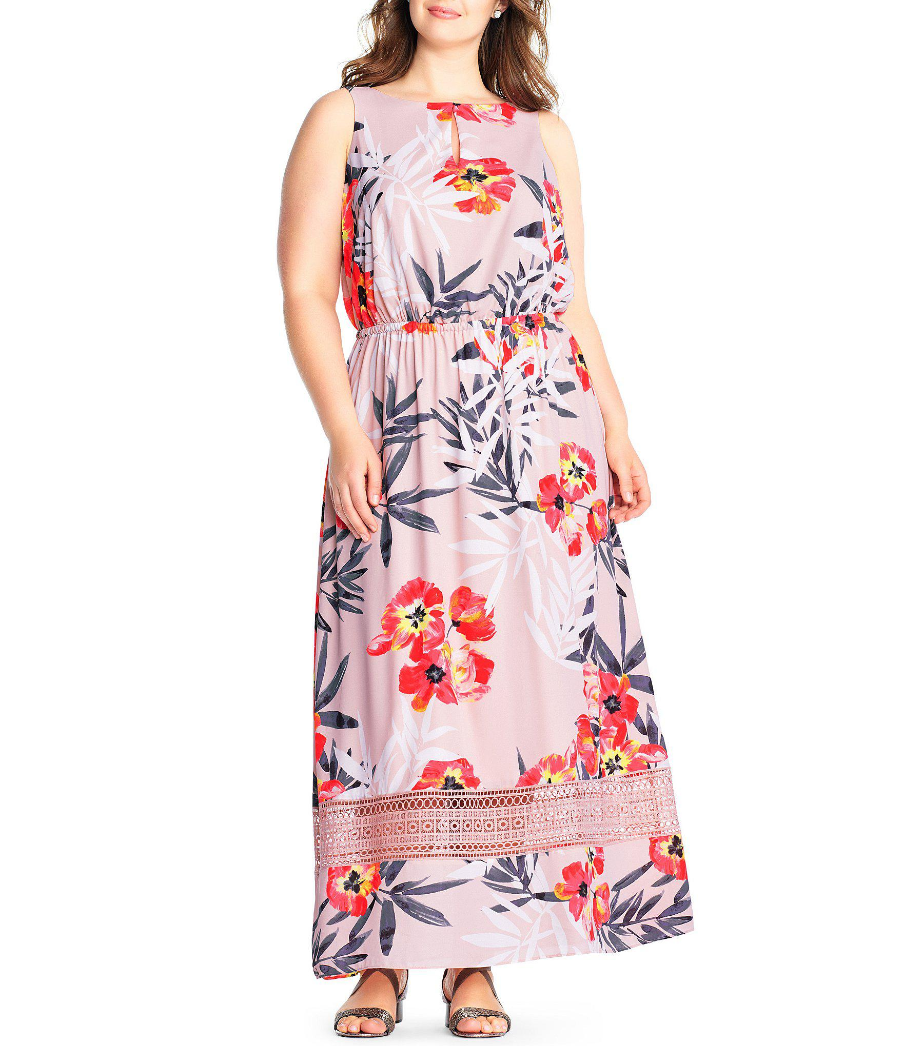 560ab2f46e5 Gallery. Previously sold at  Dillard s · Women s Tropical Print Dresses ...