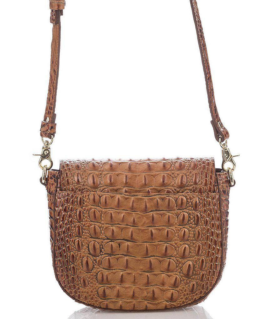 Are Brahmin Handbags Made Of Real Crocodile Leather Quora Gallery Lyst Toasted Almond Collection Mini Sonny
