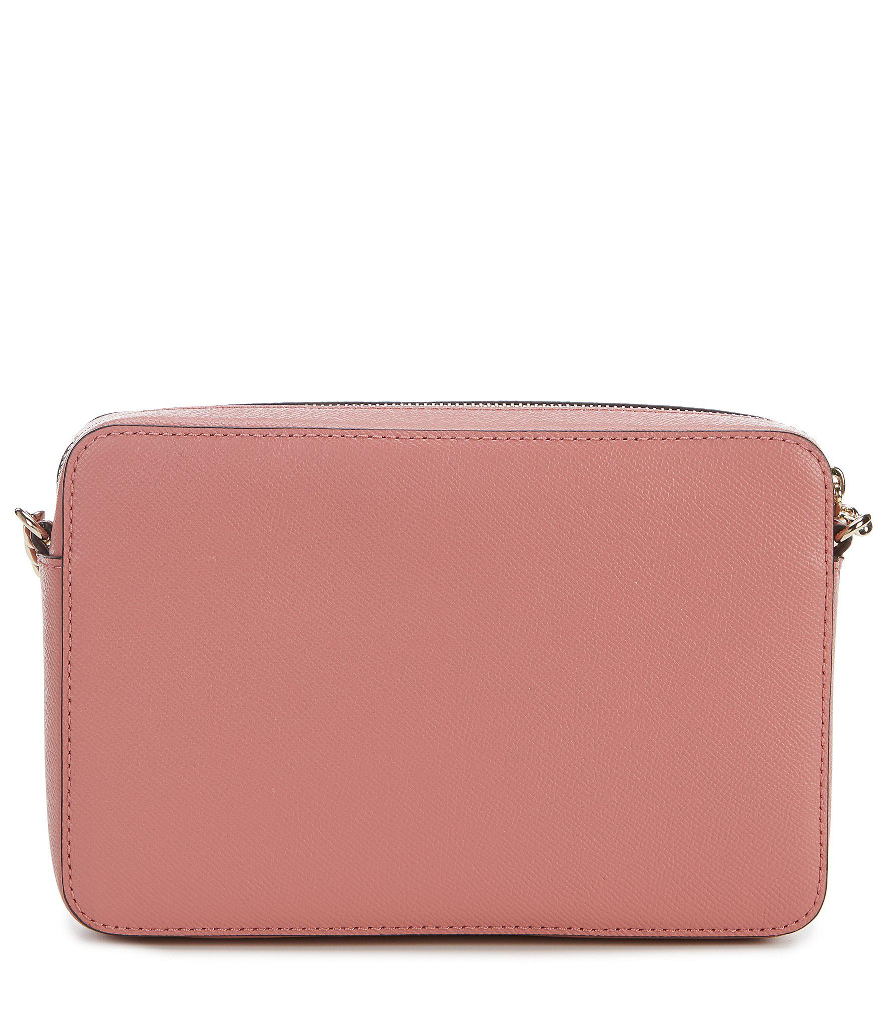 c11286cdbf43 Lyst - MICHAEL Michael Kors Large East west Cross-body Bag in Pink