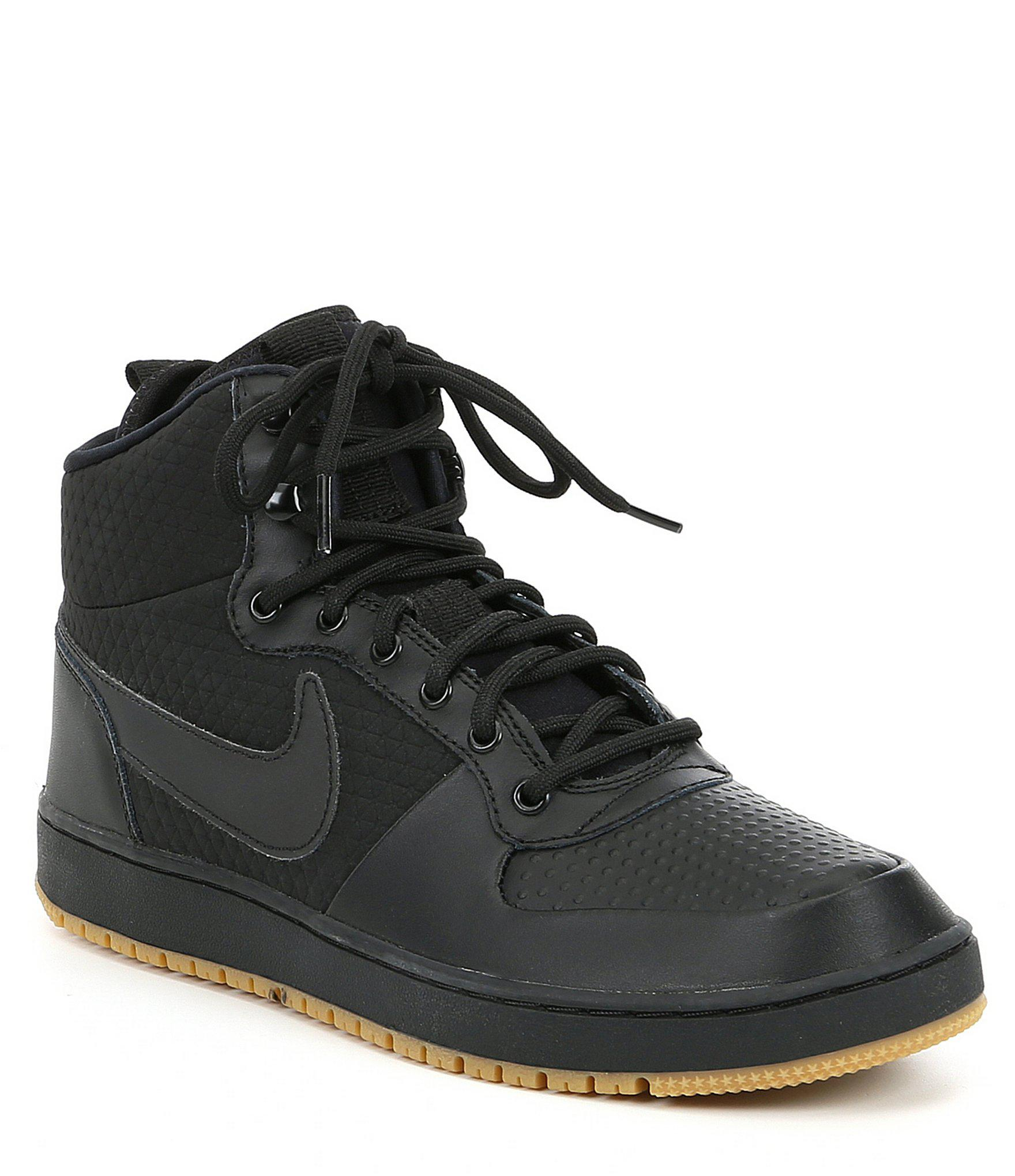 1c4d93c081 Lyst - Nike Men s Ebernon Mid Winter Lifestyle Sneaker in Black for Men