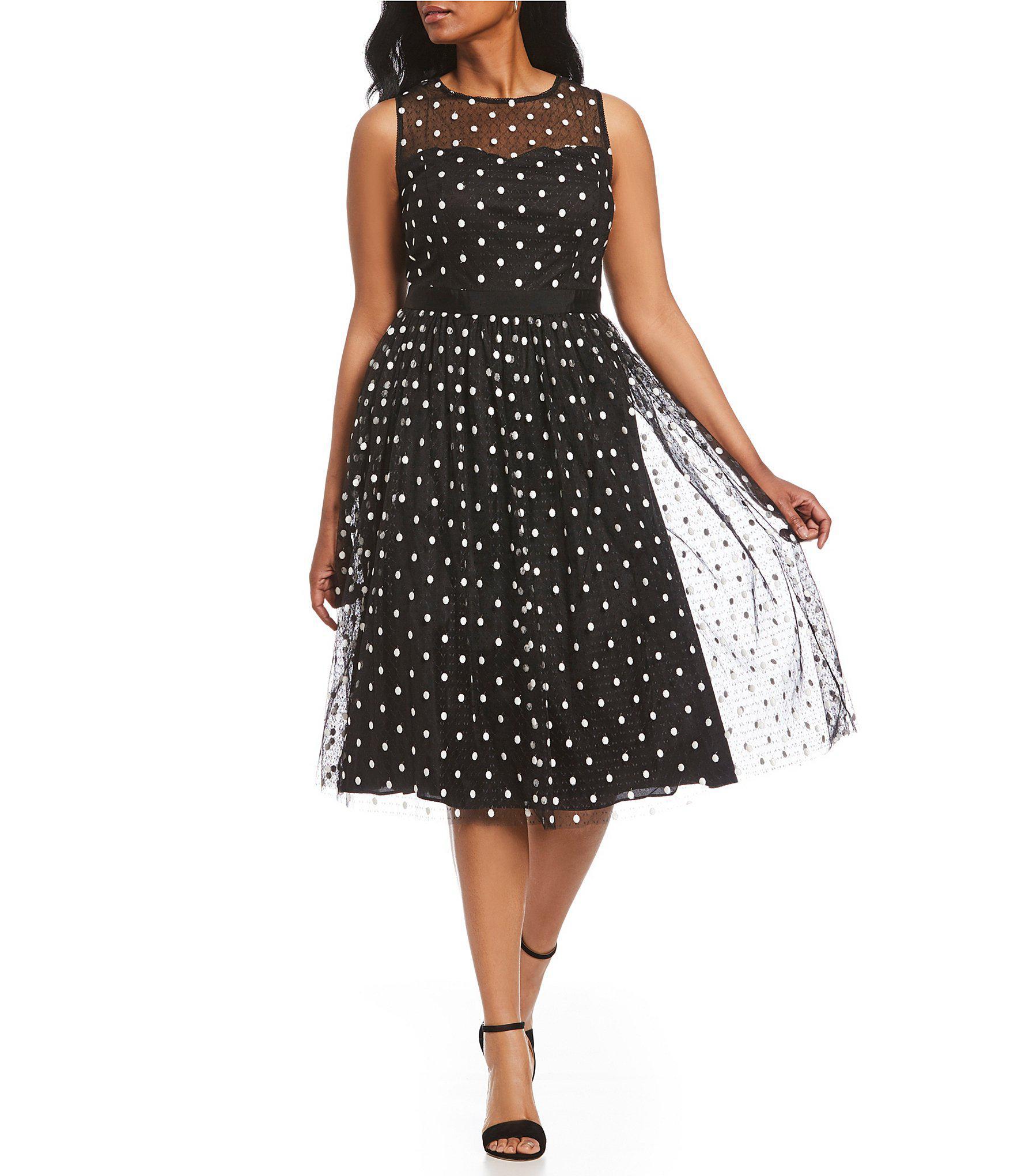 2655bb969b6 Gallery. Previously sold at  Dillard s · Women s Polka Dot Dresses Women s Tea  Dresses