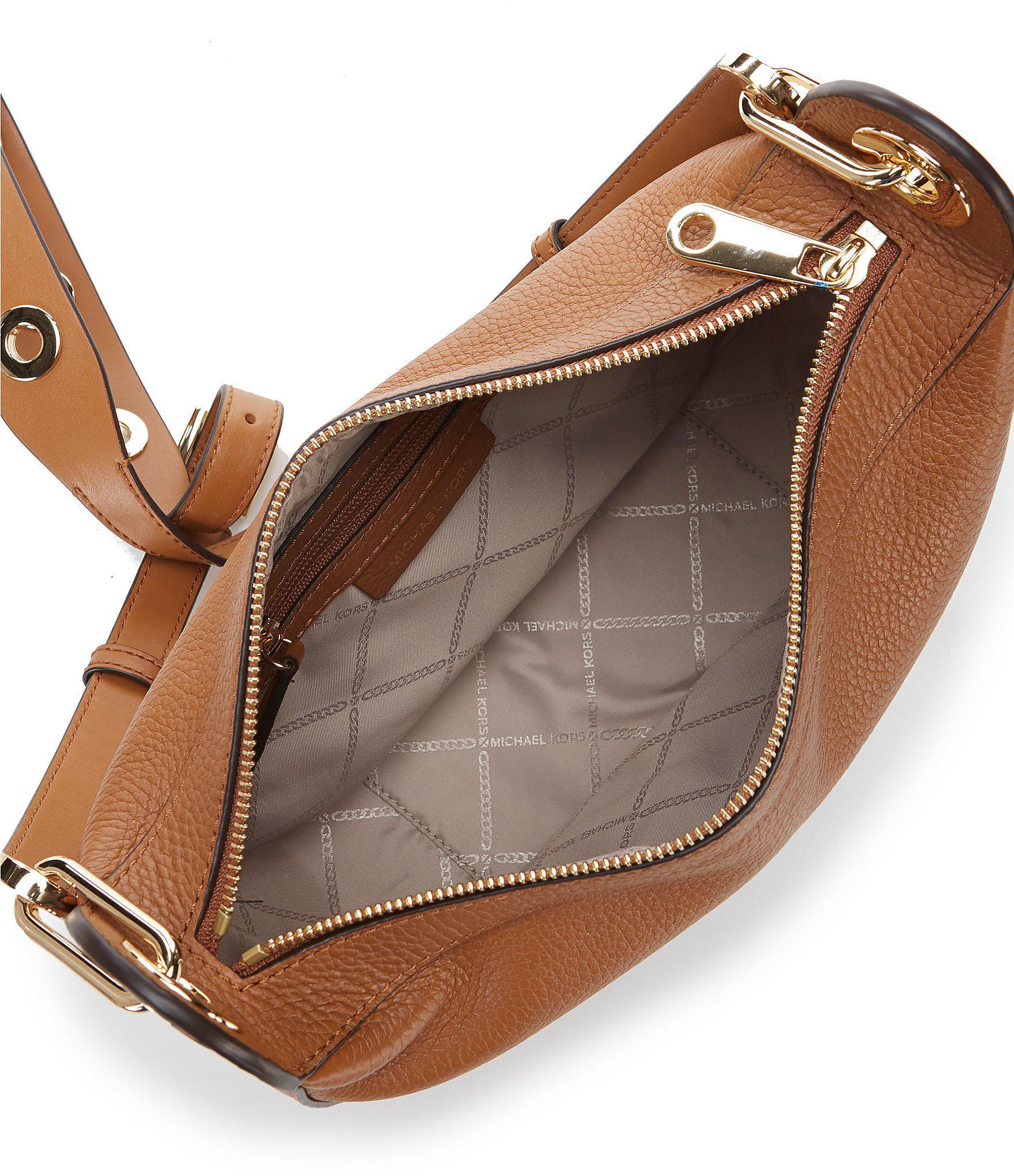 2b895c8b70ac Lyst - MICHAEL Michael Kors Barlow Medium Messenger Bag