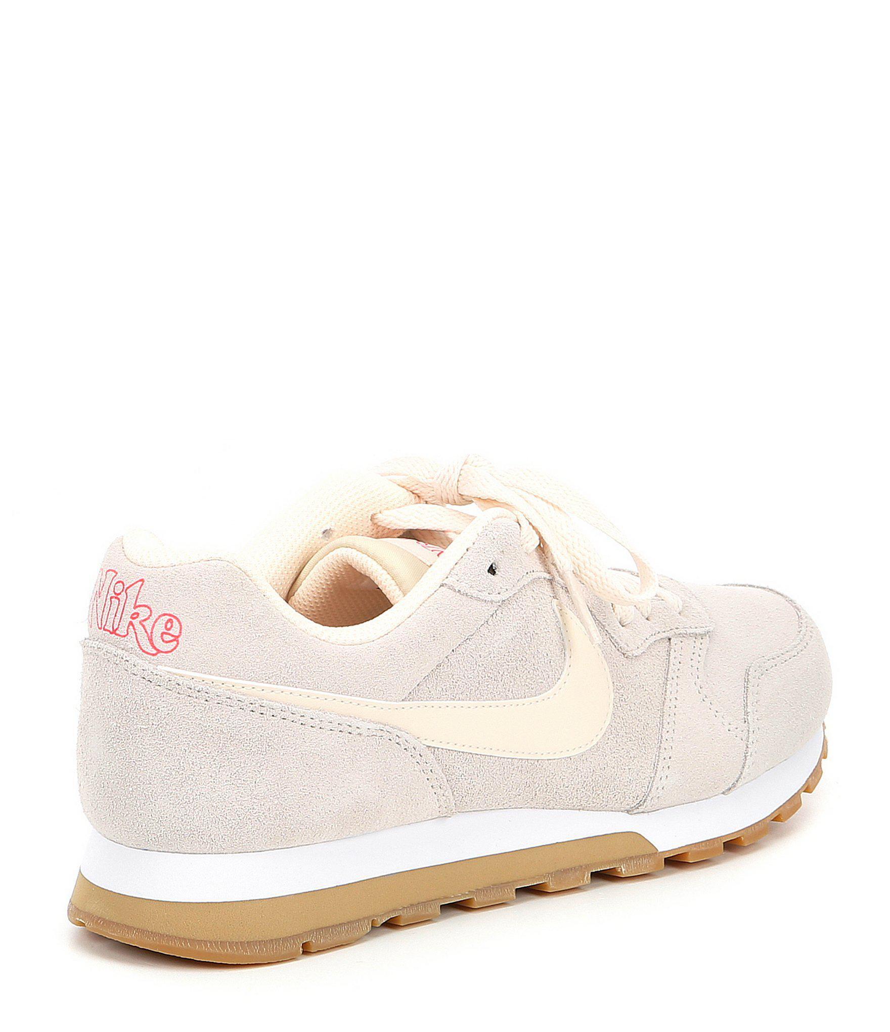 new product 43a67 5cda3 Nike Women s Md Runner 2 Se Retro Running Shoe in White - Lyst
