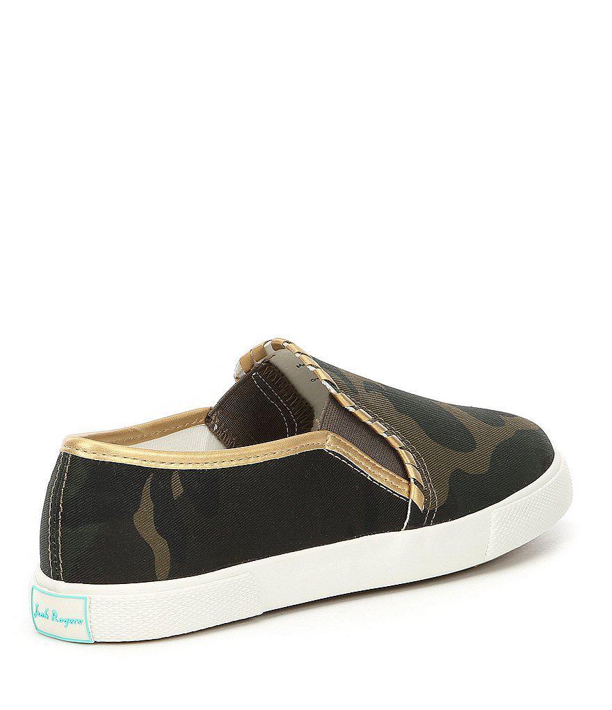 Mckay Canvas Camo Slip On Sneakers jEdJNjVr