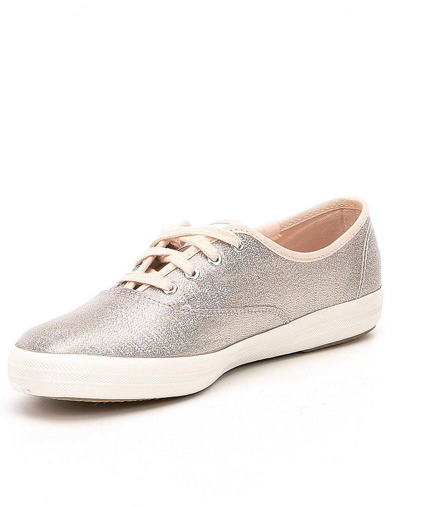 2e1cbf68486 Lyst - Keds Champion Lurex Sneakers